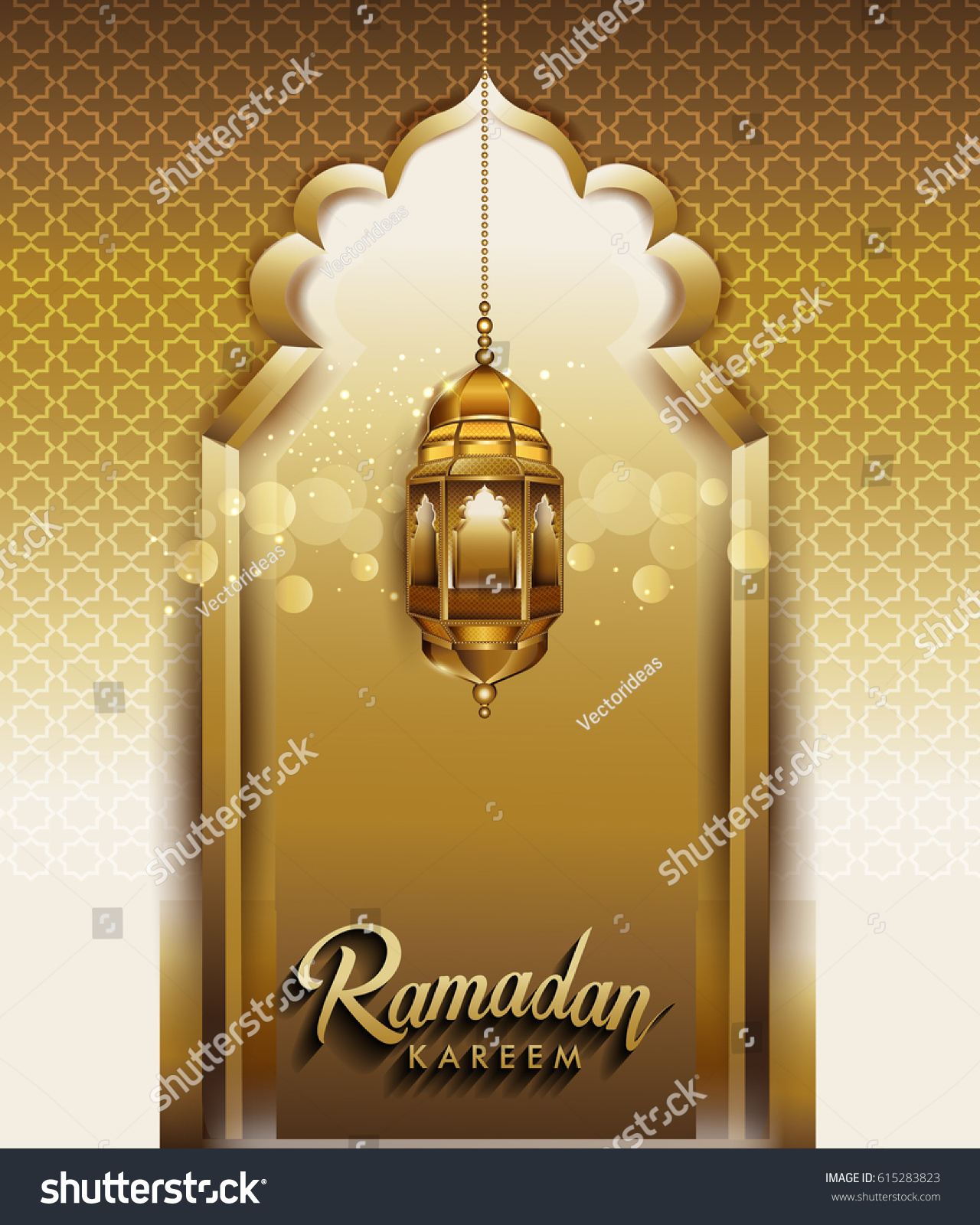 hd royalty light vector image with arabic lamp free stock intricate