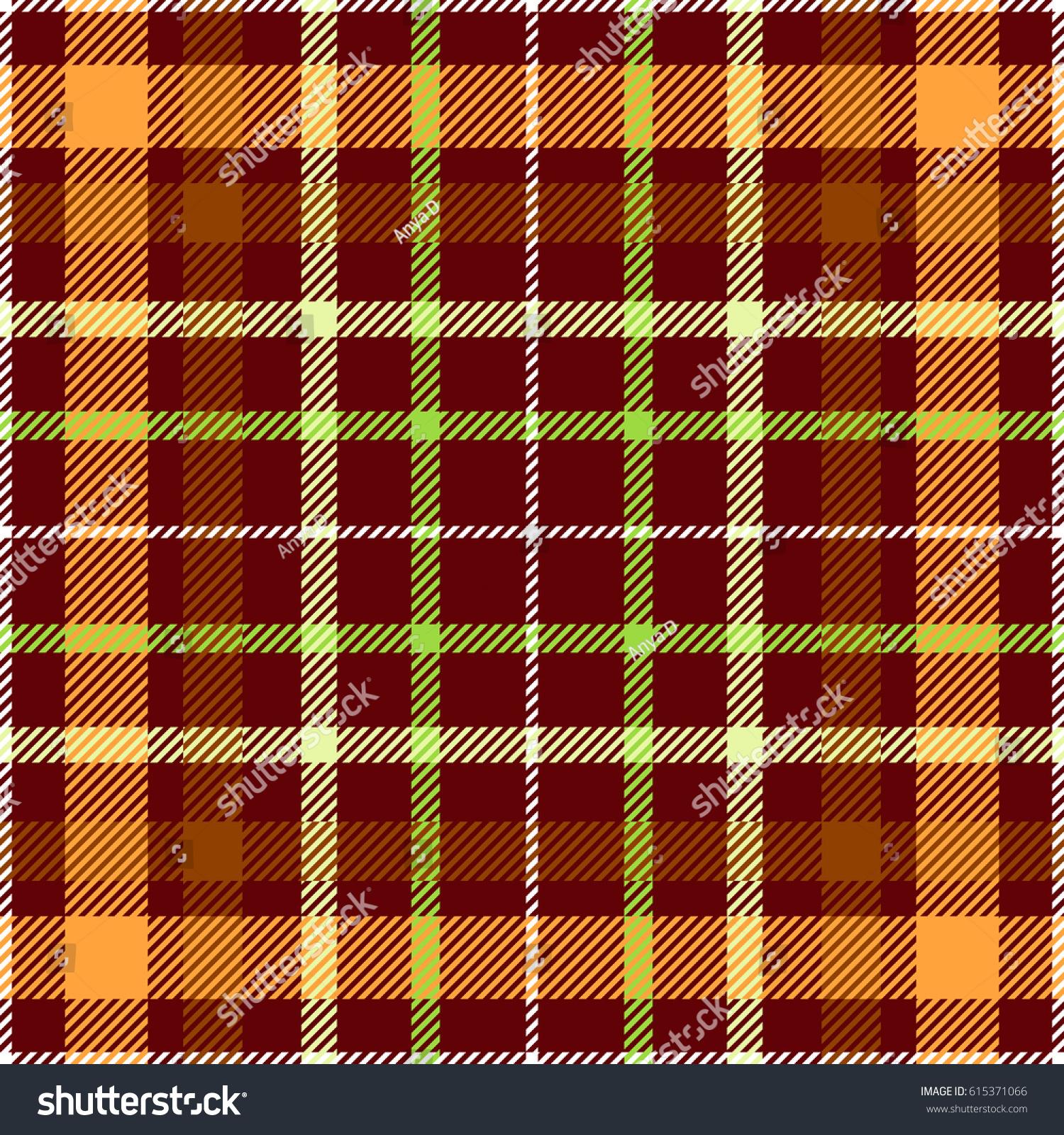 Seamless Tartan Plaid Patterncheckered Fabric Texture Stock Vector ...