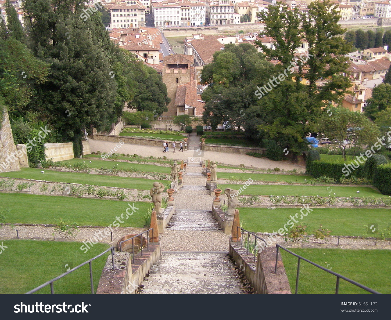 Italian garden giardino di boboli firenze stock photo 61551172 shutterstock - Giardino di boboli firenze ...