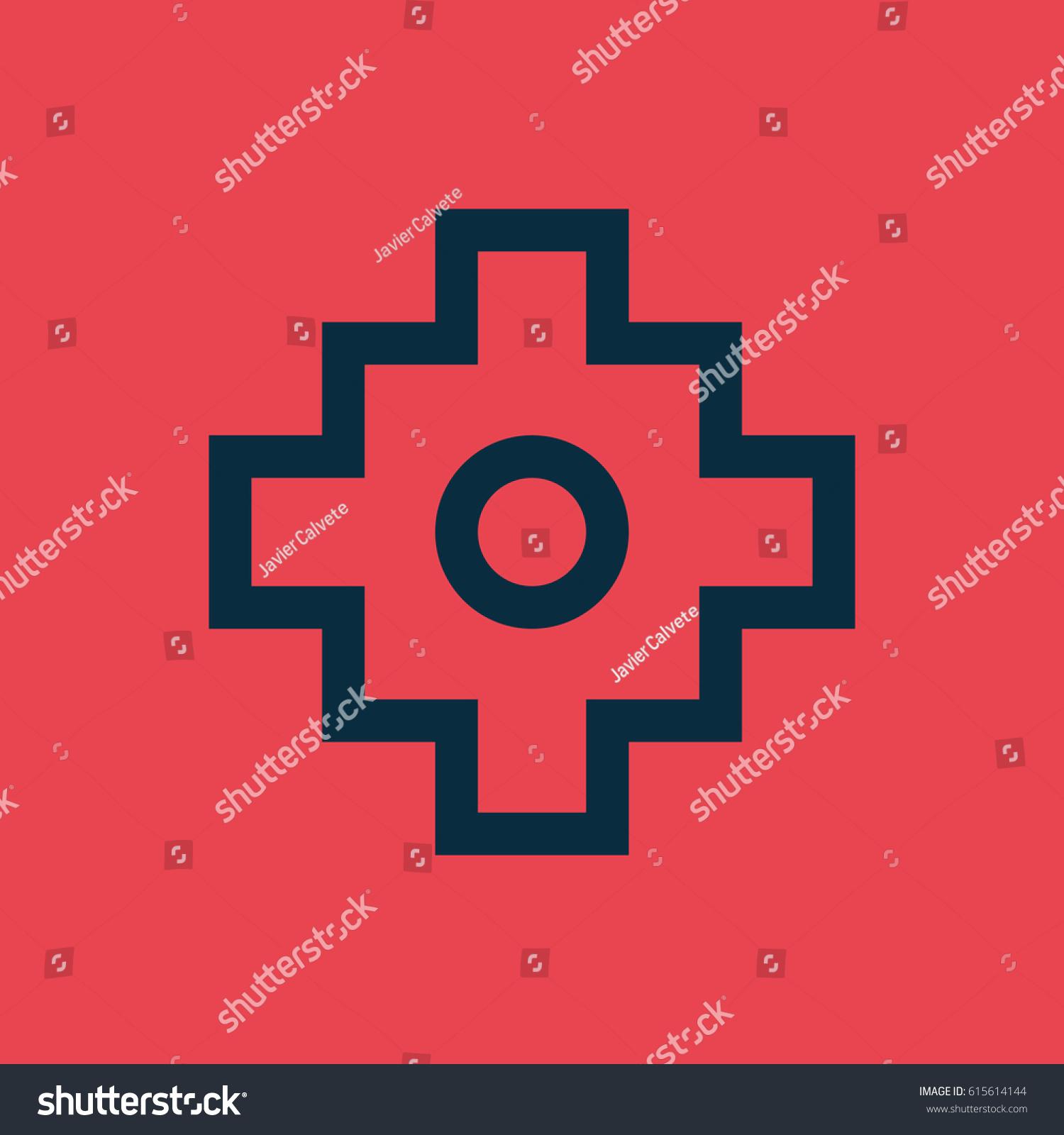 Tumaco symbol colombian culture stock vector 615614144 shutterstock tumaco symbol colombian culture buycottarizona