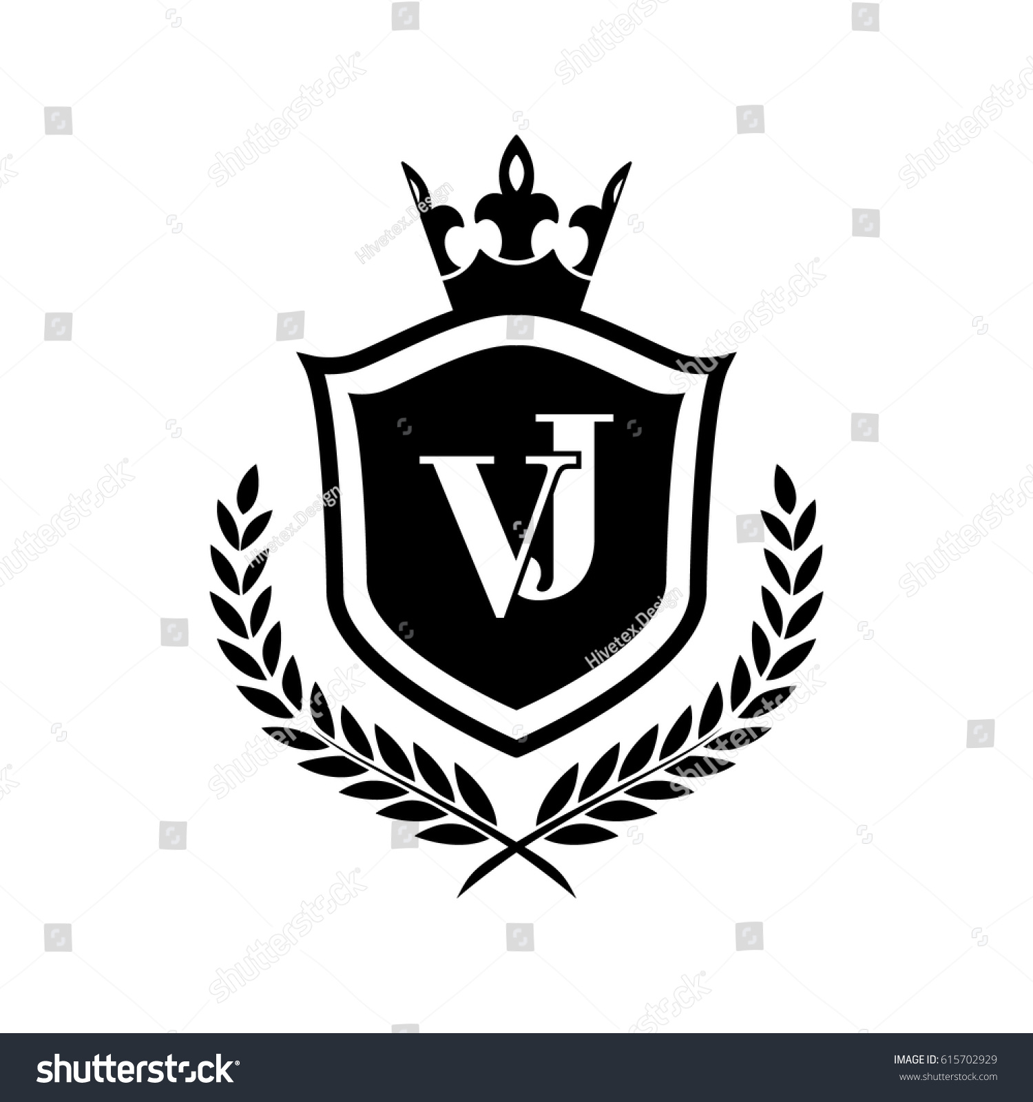 vj logo stock vector royalty free 615702929 shutterstock