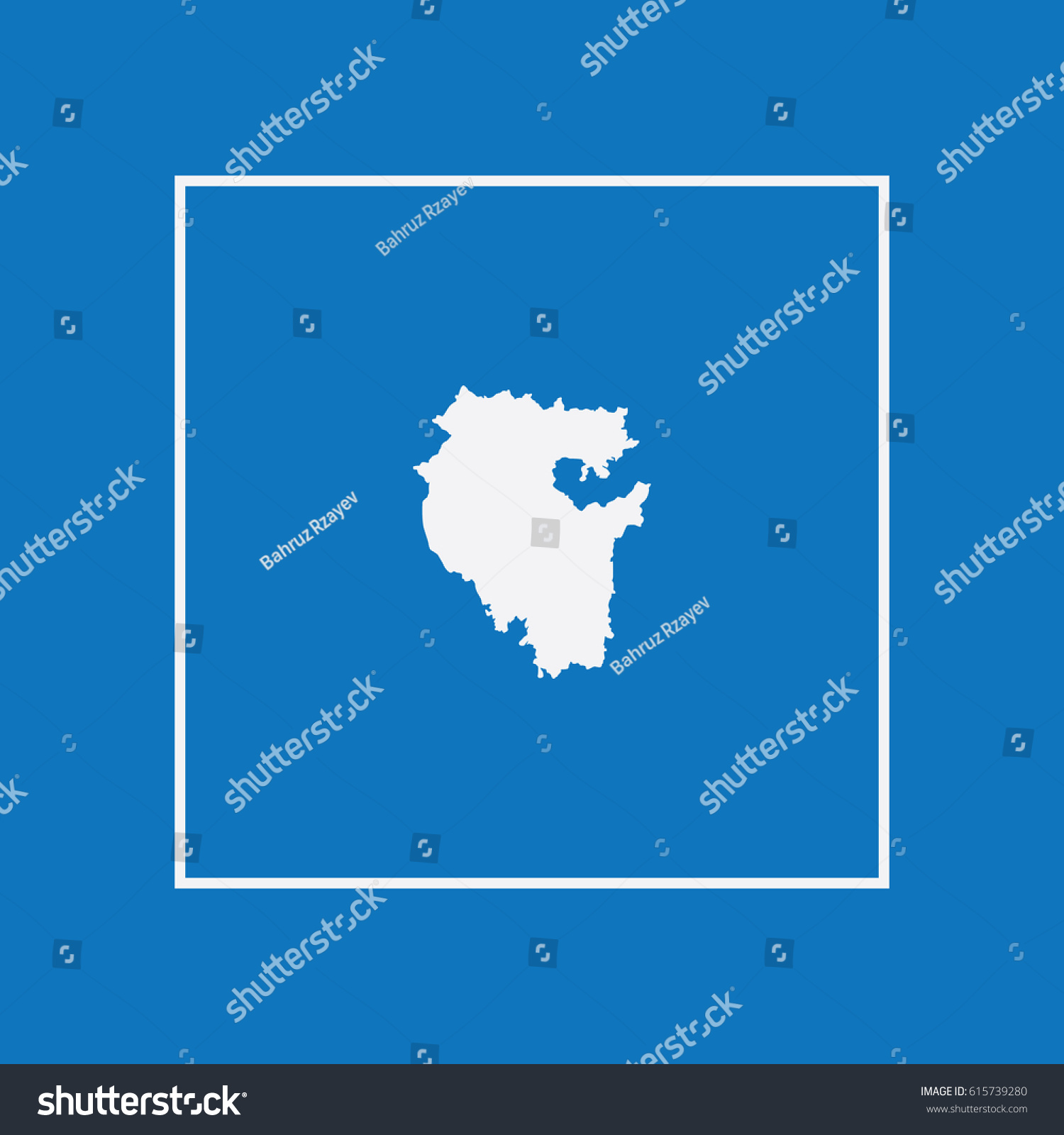 Map Ufa Vector Illustration Stock Vector 615739280 Shutterstock