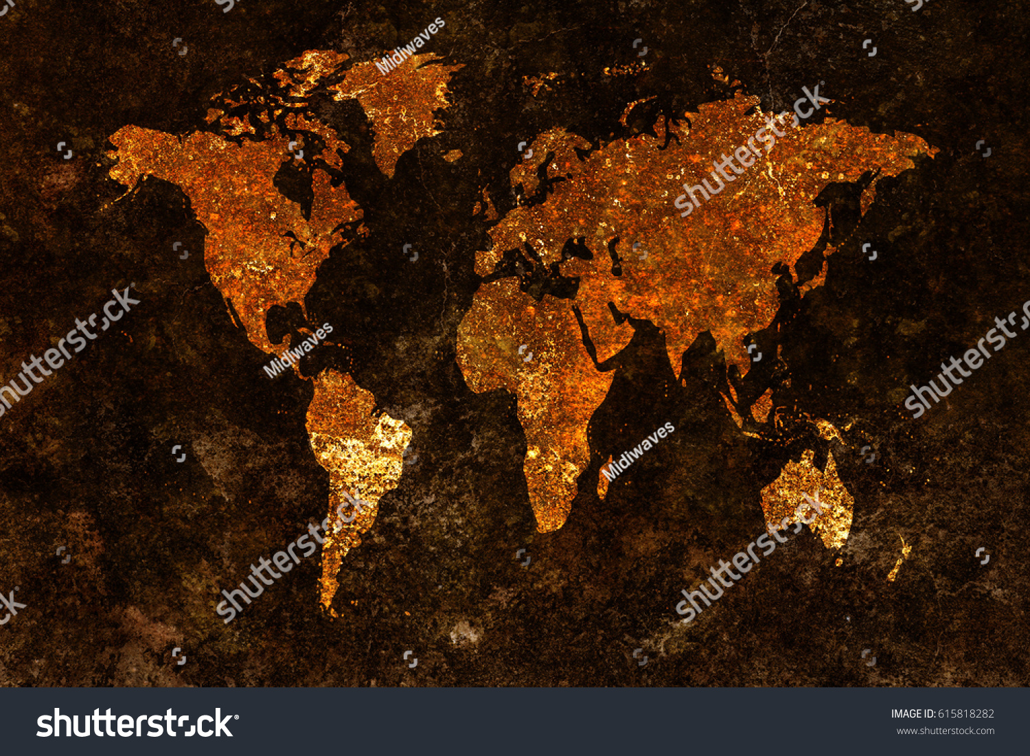 Grunge world map background stock photo 615818282 shutterstock gumiabroncs Gallery