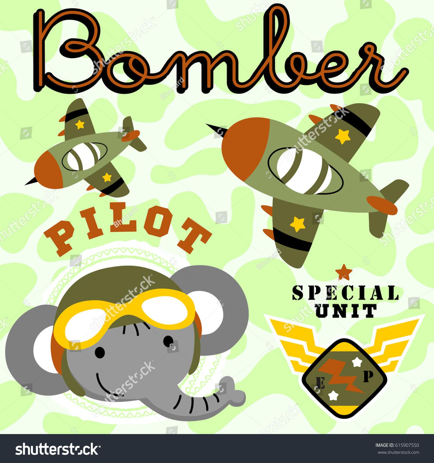 Most Inspiring Wallpaper Cartoon Elephant - stock-vector-elephant-the-bomber-air-craft-pilot-vector-cartoon-kids-t-shirt-design-wallpaper-615907550  Pictures_743418  .jpg