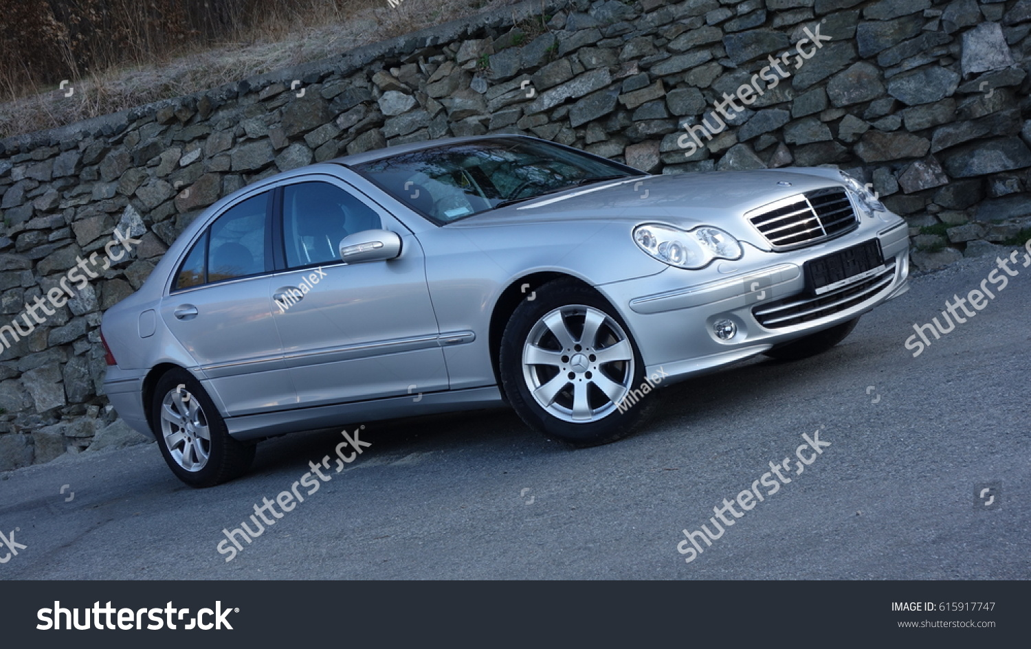 Cluj Napoca Romania March 31 2017 Mercedes Benz Stock Photo Edit Paint W203 Year 2005