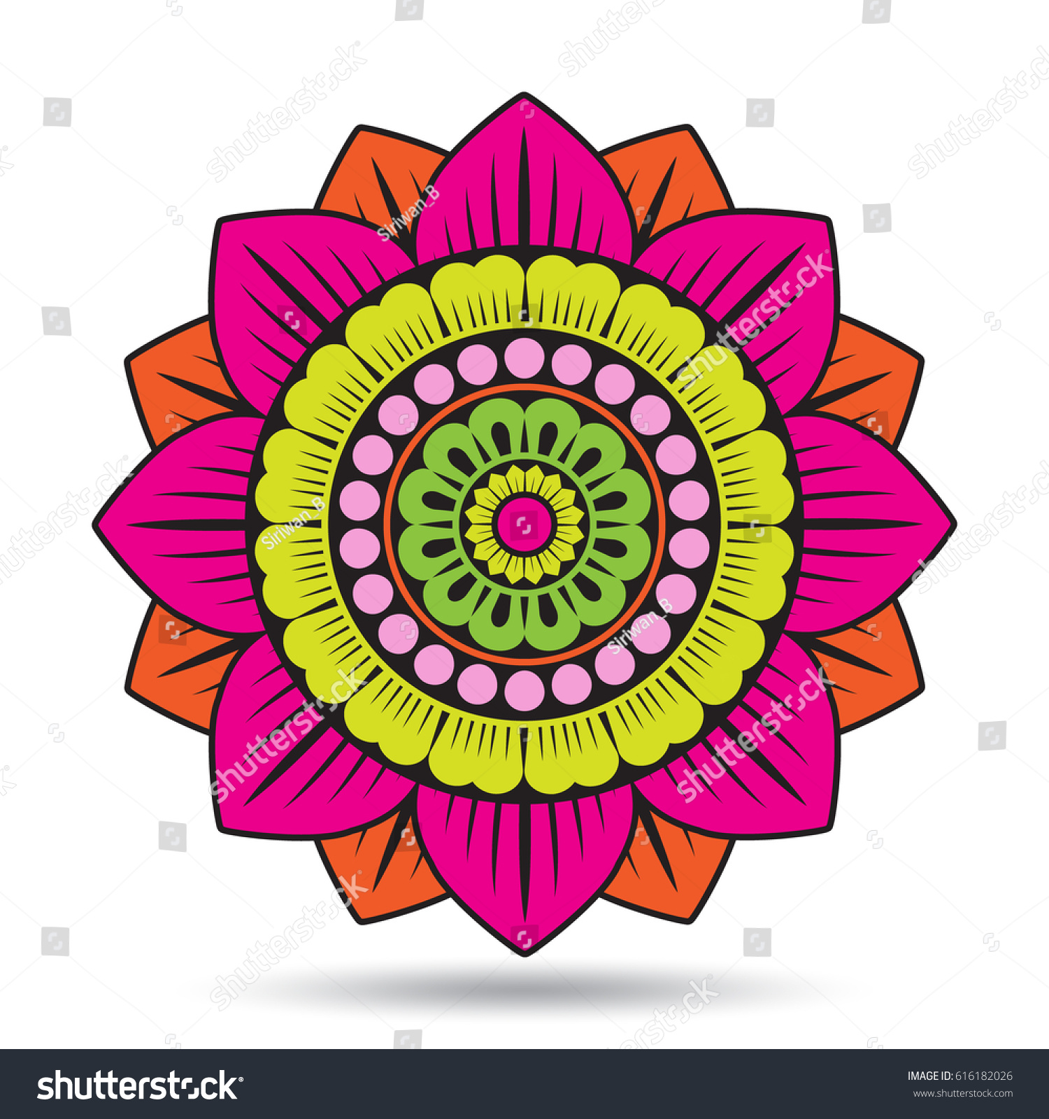 Lotus flower elements oriental ornament graphic stock vector 2018 lotus flower elements oriental ornament graphic vector illustration izmirmasajfo