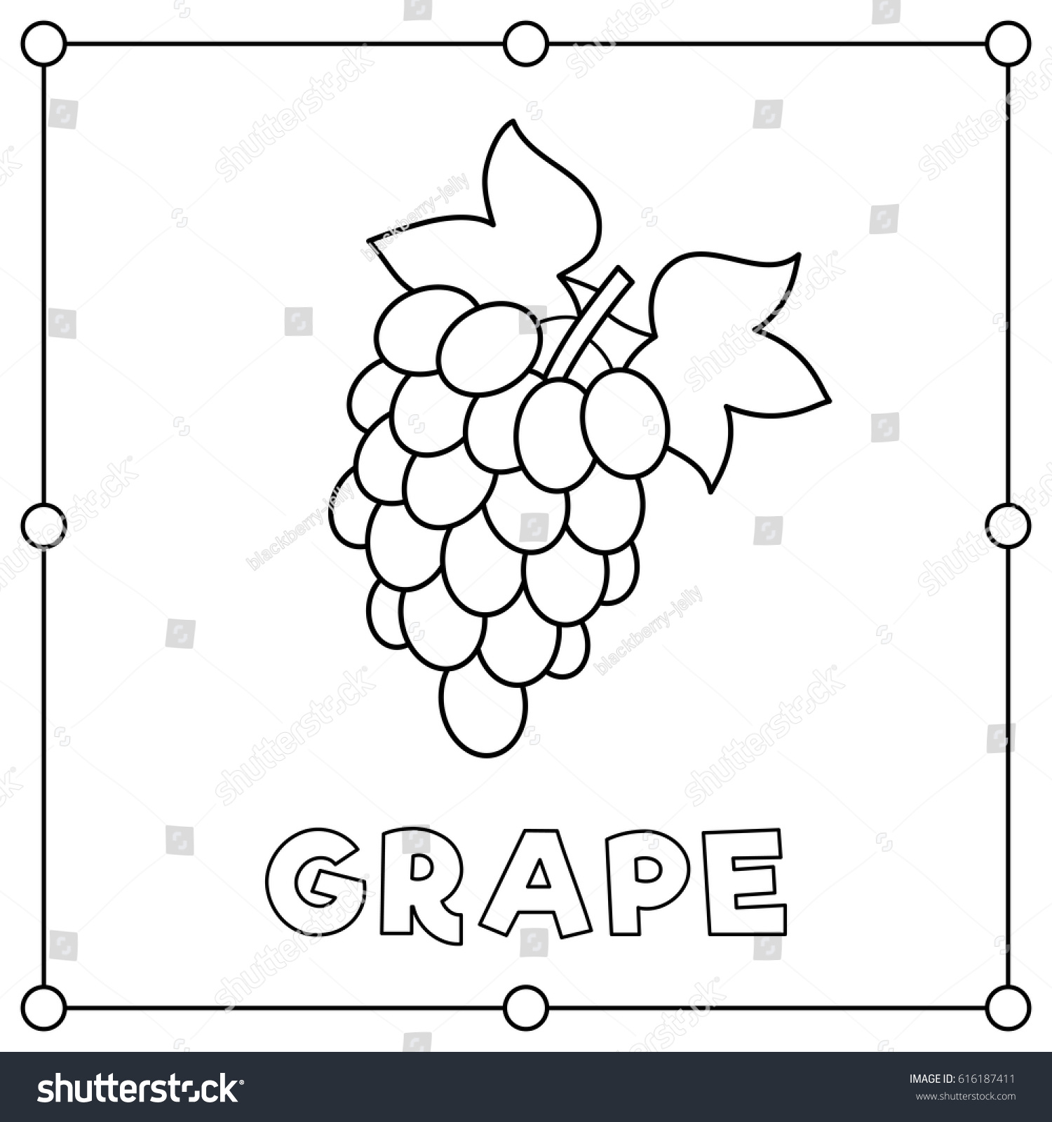 Grape Coloring Page grapes coloring pages to print grape coloring ...