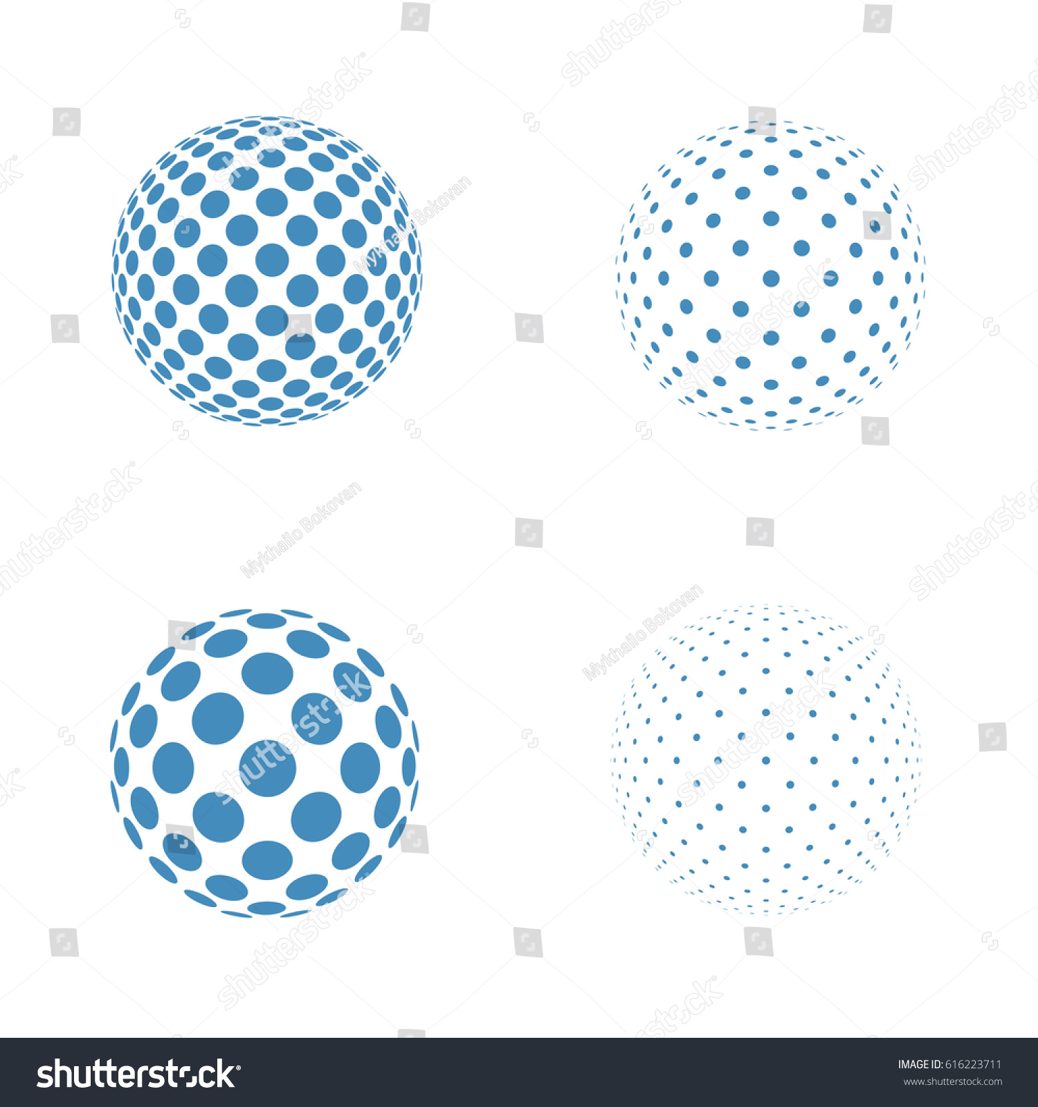 Abstract Globe Logo Template Icons Sphere Stock Photo Photo Vector