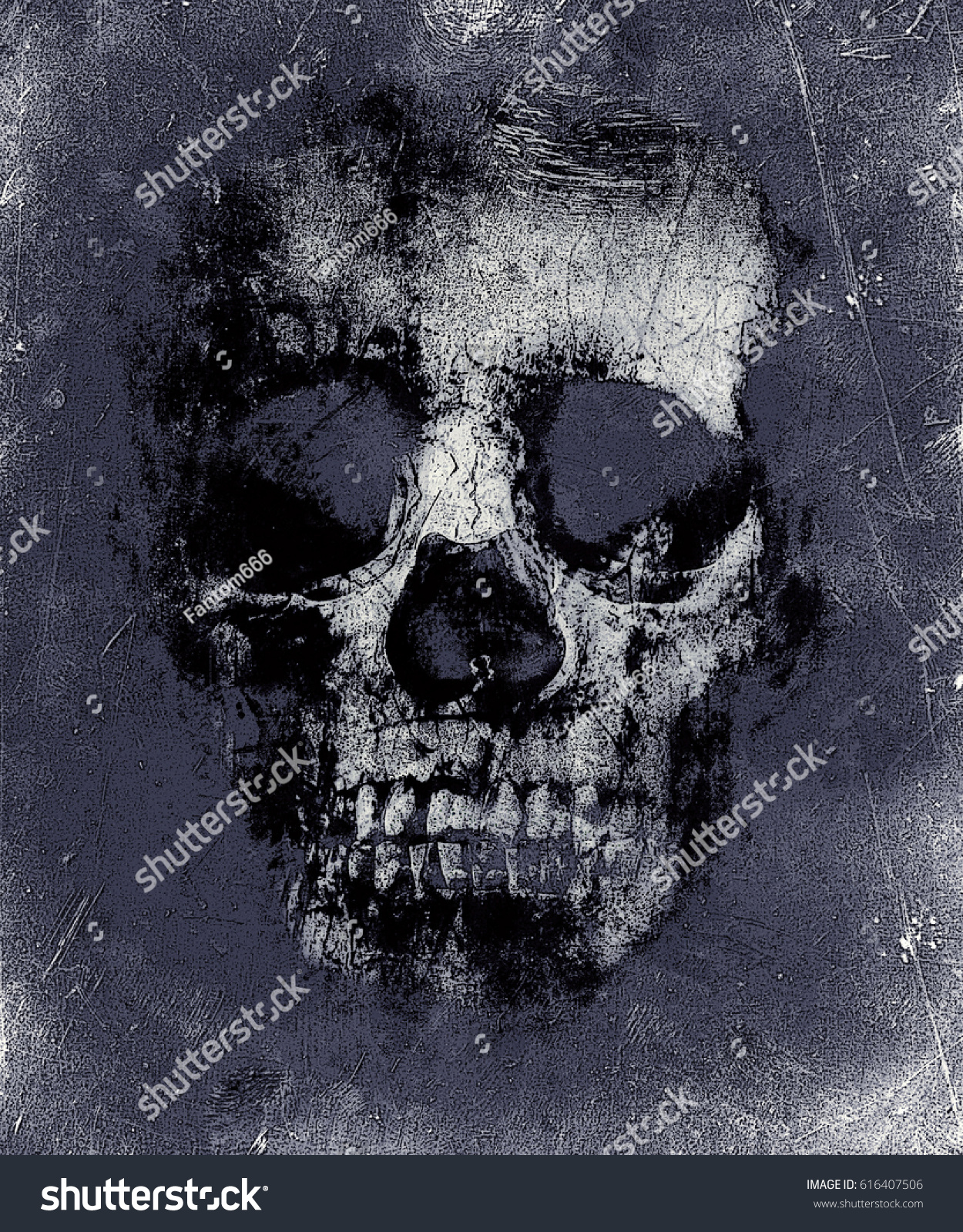 Fantastic Wallpaper Halloween Skull - stock-photo-wallpaper-with-scary-skull-horror-background-for-halloween-concept-and-movie-poster-project-616407506  Photograph_778168.jpg