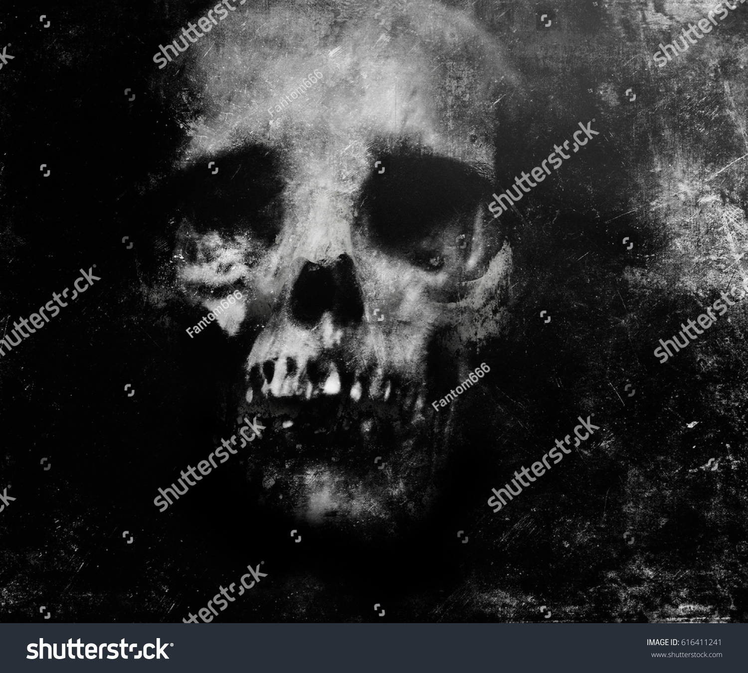Wonderful Wallpaper Halloween Grunge - stock-photo-scary-grunge-wallpaper-halloween-background-with-spooky-skull-616411241  Pictures_232278.jpg