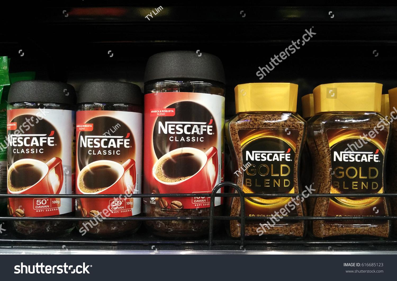 Tempat Jual Nescafe Gold White Coffee Terbaru 2018 Tas Fashion Import Ysbj4866black Penang Malaysia March 27 2017 Stock Photo Edit Now Blend And Classic