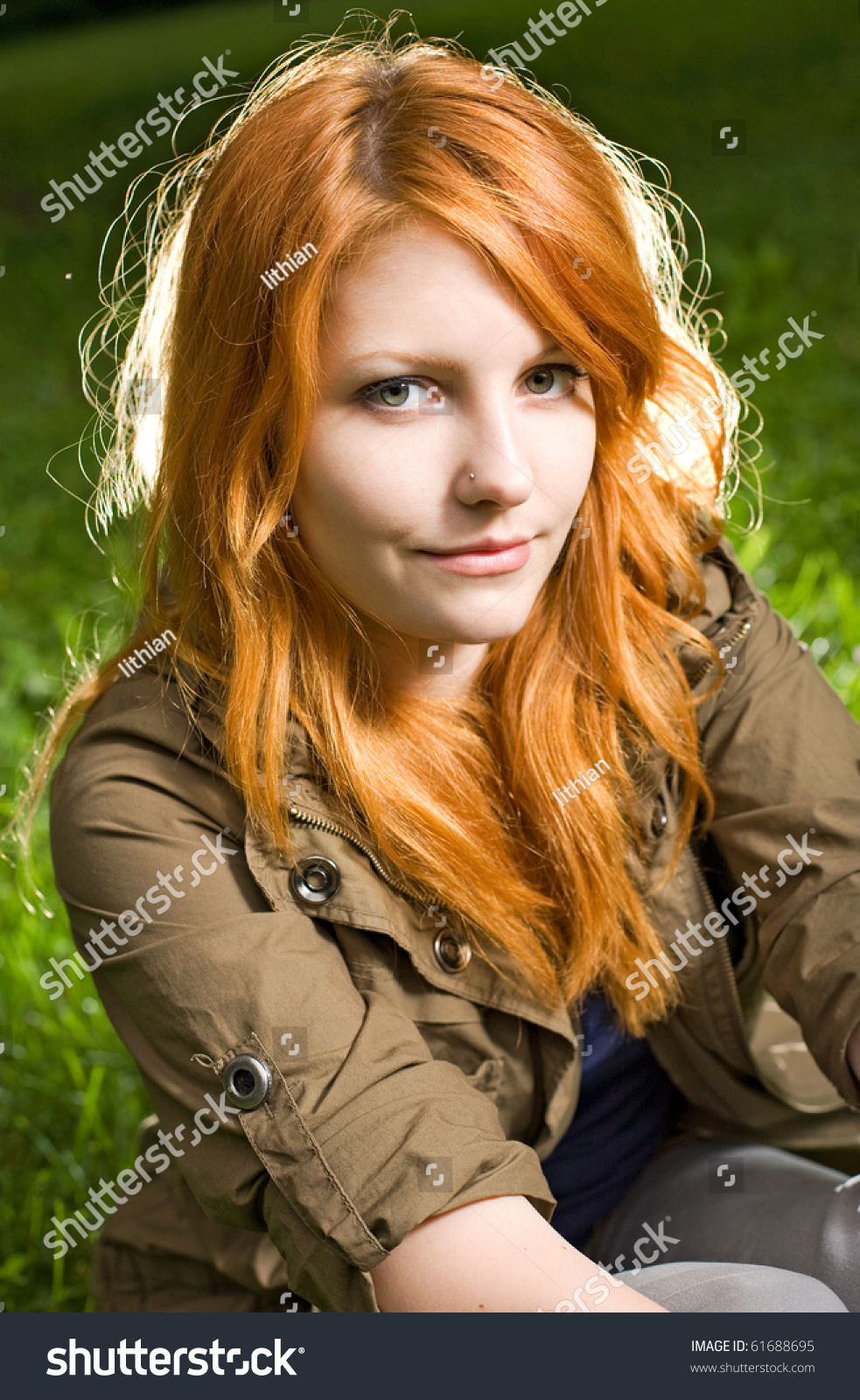 Hairy Red Head Teen Squirts