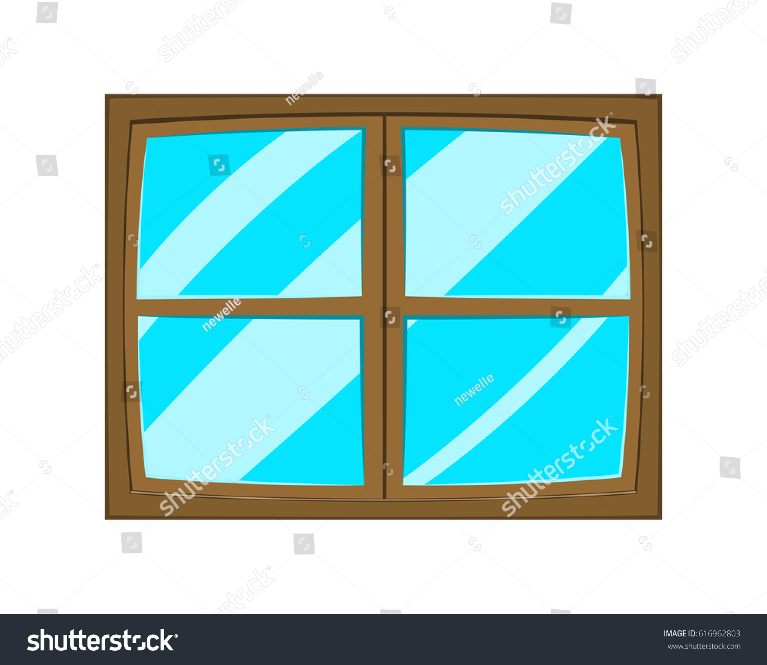 Window cartoon vector symbol icon design stock vector for Window design cartoon