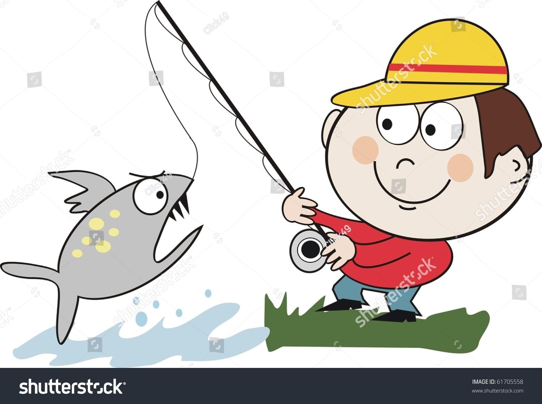 angler cartoon