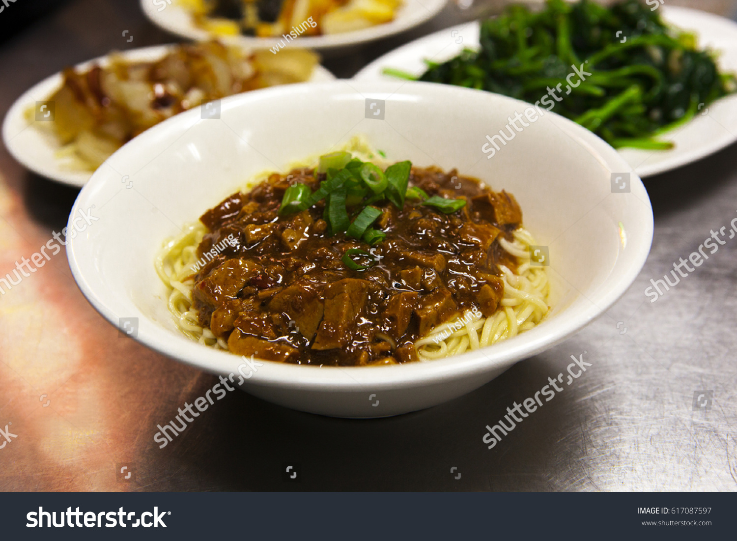 Traditional Chinese Food Northeastern China Stock Photo