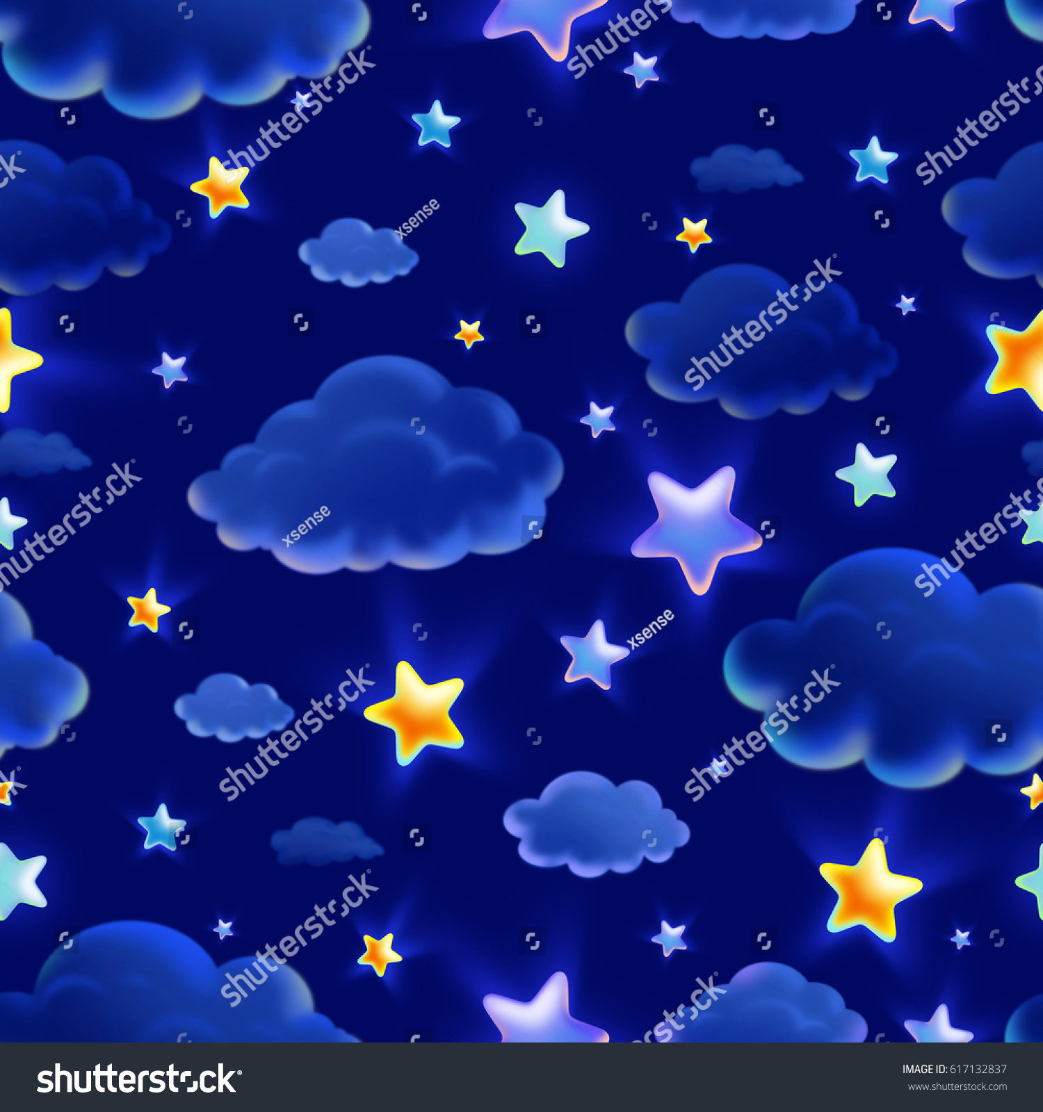 Night Sky Backgroundchild Wallpaper Highresolution Seamless
