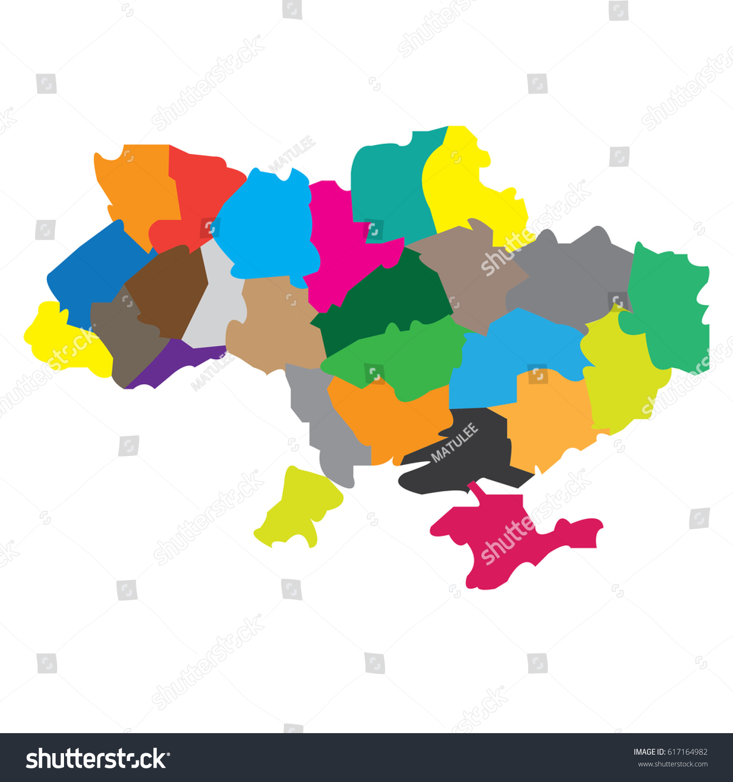 Map countries ukraine stock vector 617164982 shutterstock map countries ukraine gumiabroncs Images