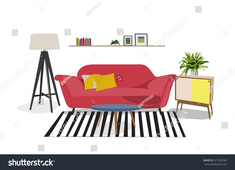 Cozy Modern Living Room Interior Design Elements Danish Bright And