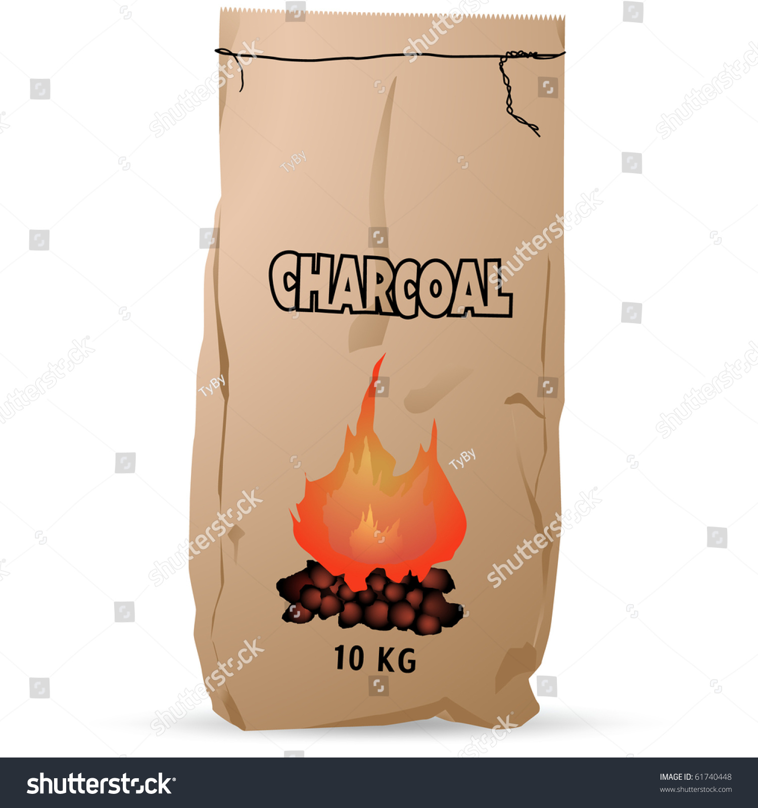 paper as charcoal The caloric content of the briquettes increased with the percent of biomass in the briquette the lowest value was found to be 448 kj/g for 100 percent paper briquettes and the highest was 595 kj/g for 100 percent biomass briquettes.