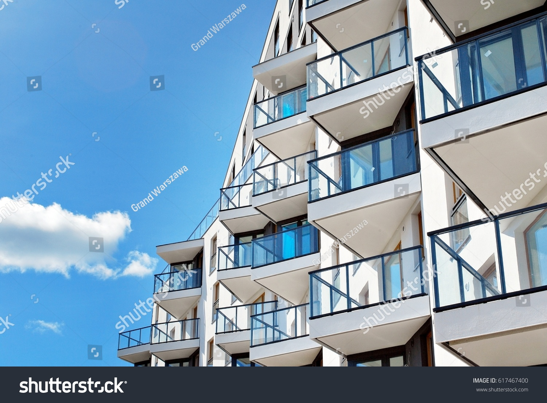 Modern, Luxury Apartment Building #617467400