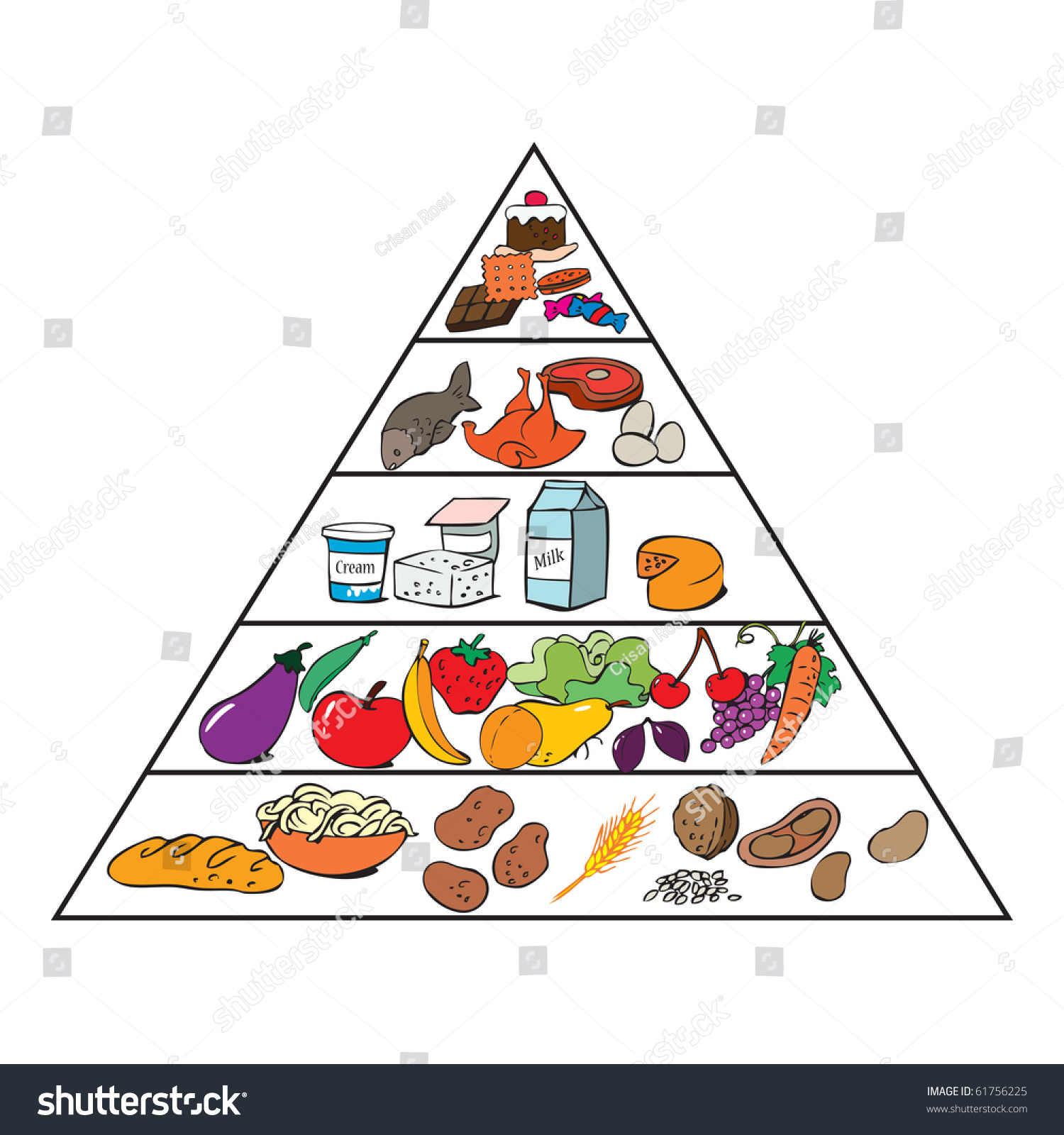 Chatting Food Clipart moreover Fish Background Colorful Icons Circle Layout likewise Stock Vector Vector Illustration Food Pyramid For Kids Cartoon Concept White Background as well Food Pyramid Healthy Eating Infographic Healthy Lifestyle Icons Products Vector Illustration as well In The Desert Clipart Egyptian Pyramid. on stock vector illustration food pyramid for kids cartoon