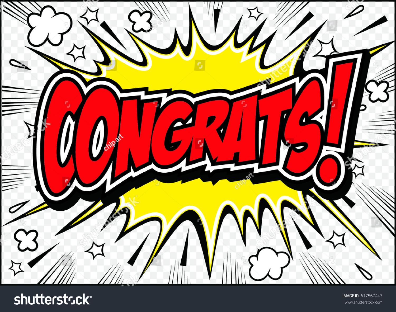 congrats congratulations cardvector illustration のベクター画像素材