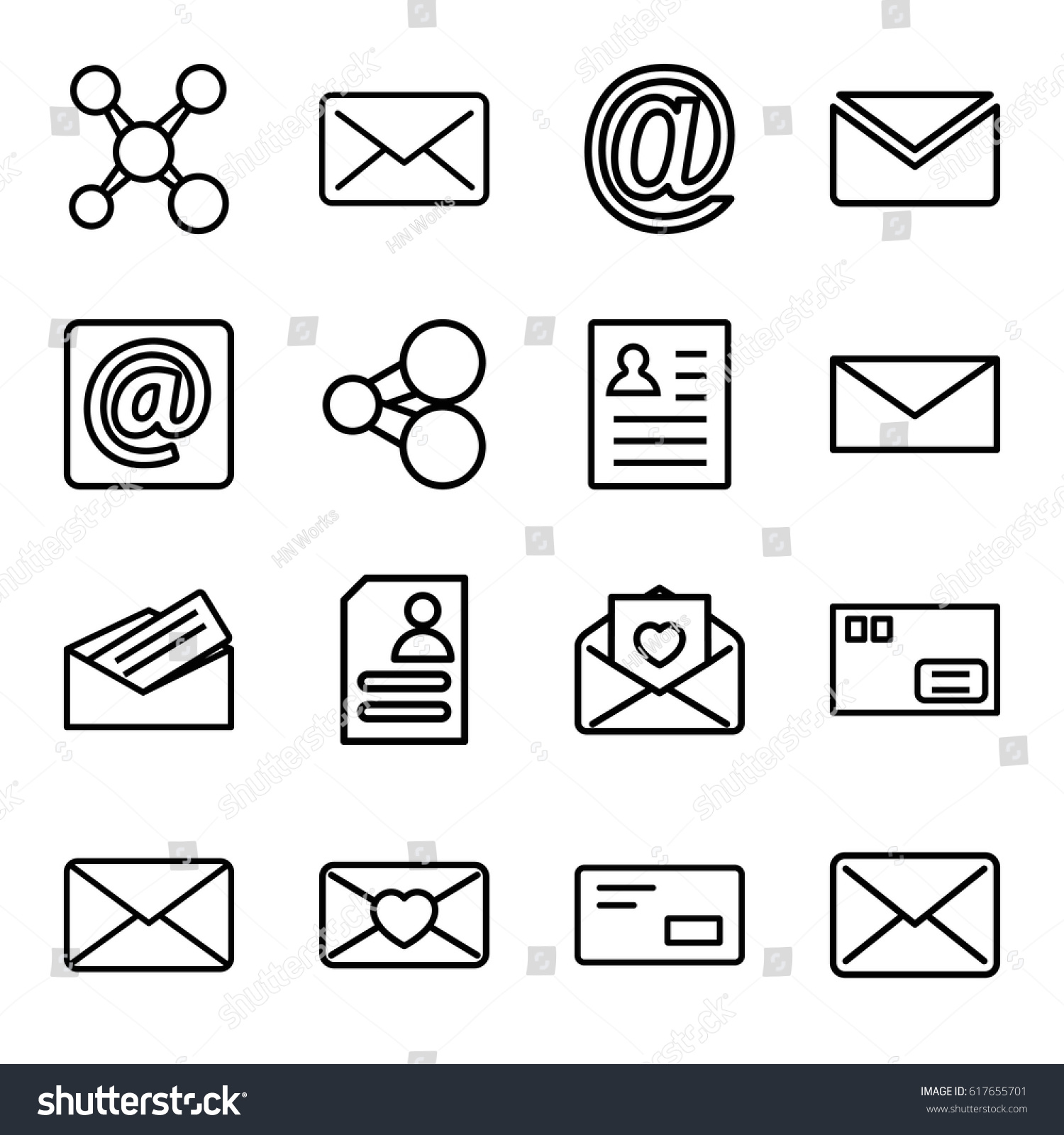 Send Icons Set Set 16 Send Stock Vector (Royalty Free) 617655701 ...