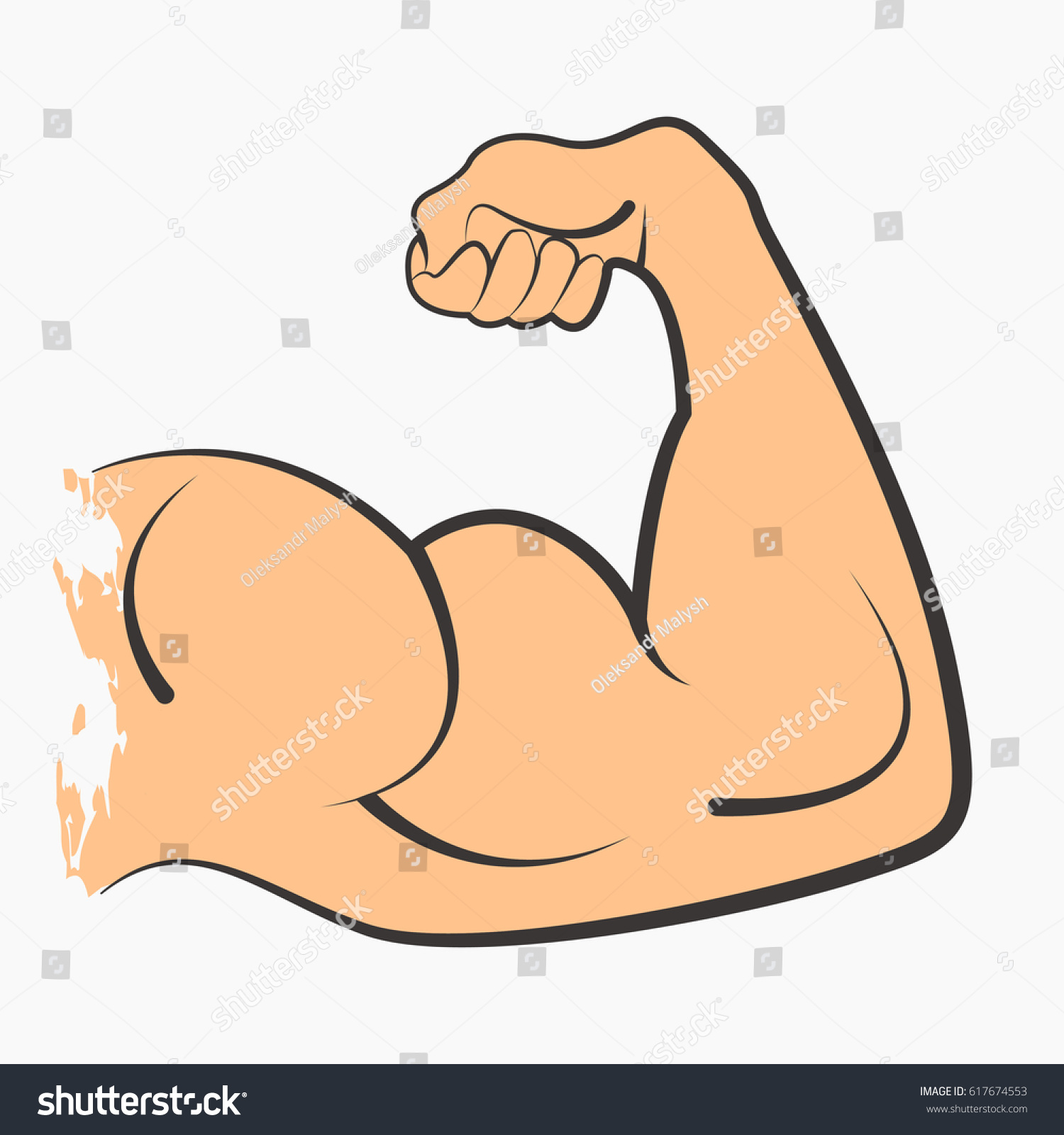 strong power muscle arms biceps icon ez canvas rh ezcanvas com Flexing Arm Muscle Clip Art Arm Muscle Drawing