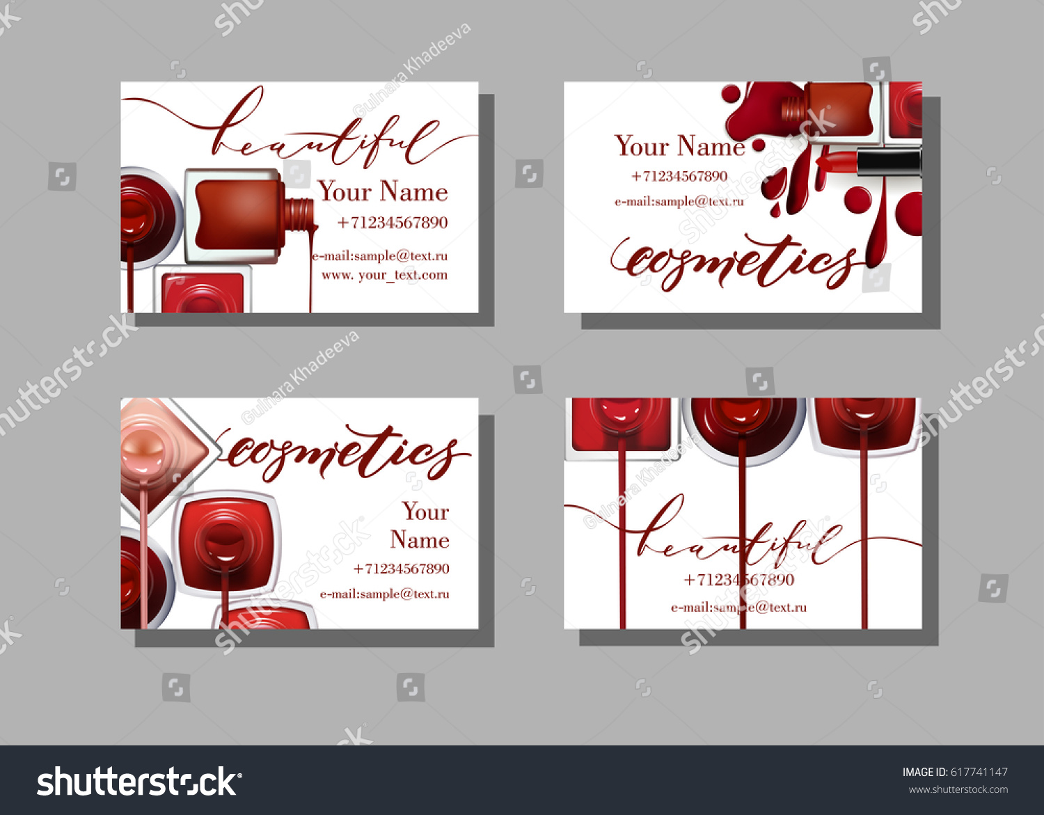 Nail Business Card Image collections - Free Business Cards