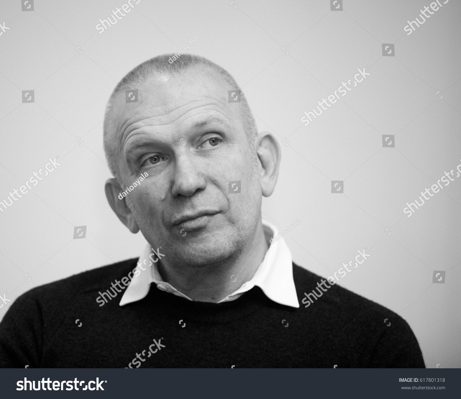 French Fashion Designer Jean Paul Gaultier Stock Photo Edit Now 617801318