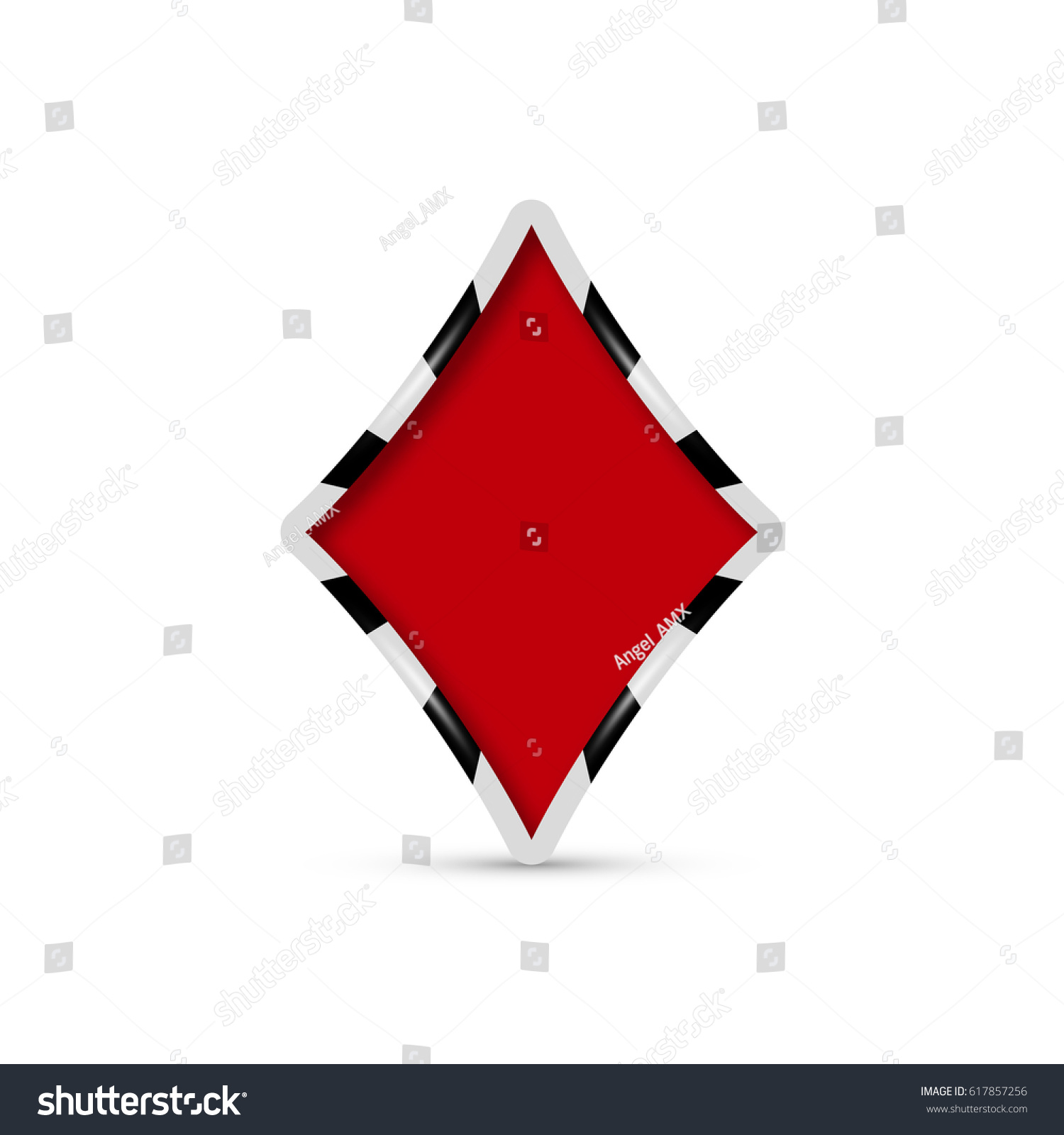 stock diamonds of image ace with card vector diamond shutterstock
