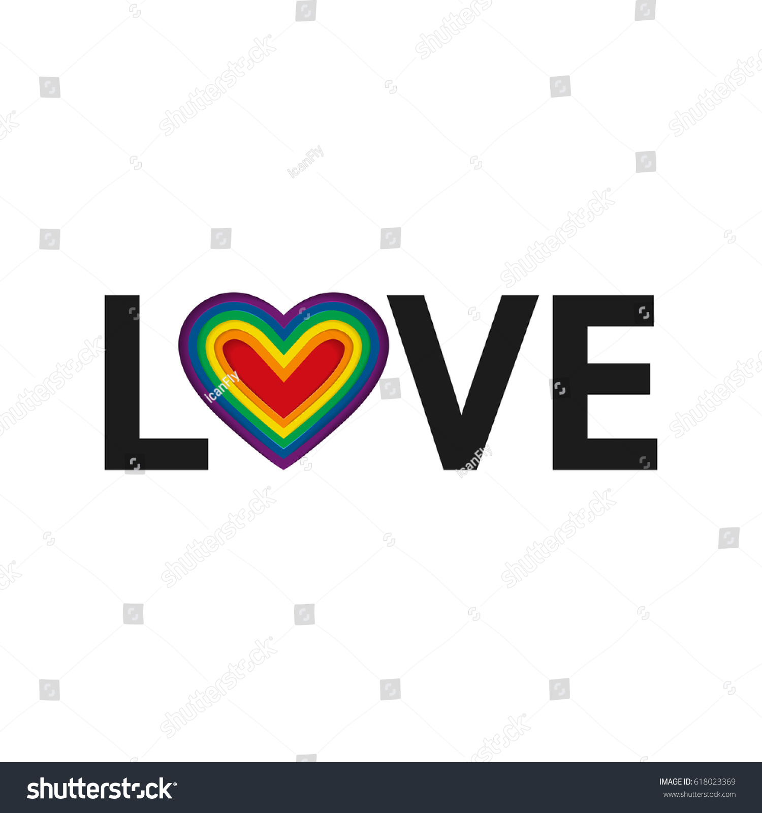 Love lgbt rainbow heart vector illustration stock vector 618023369 love lgbt rainbow heart vector illustration eps10 lgbt pride flag in vector altavistaventures Image collections