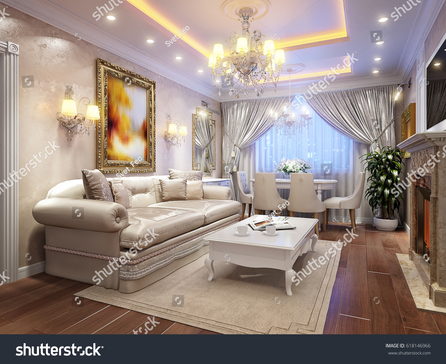 interior design living room classic. Contemporary Living Luxurious Classic Baroque Living Room Interior Design With Large Marble  Fireplace Wooden Floors White Throughout Interior Design Living Room Classic O