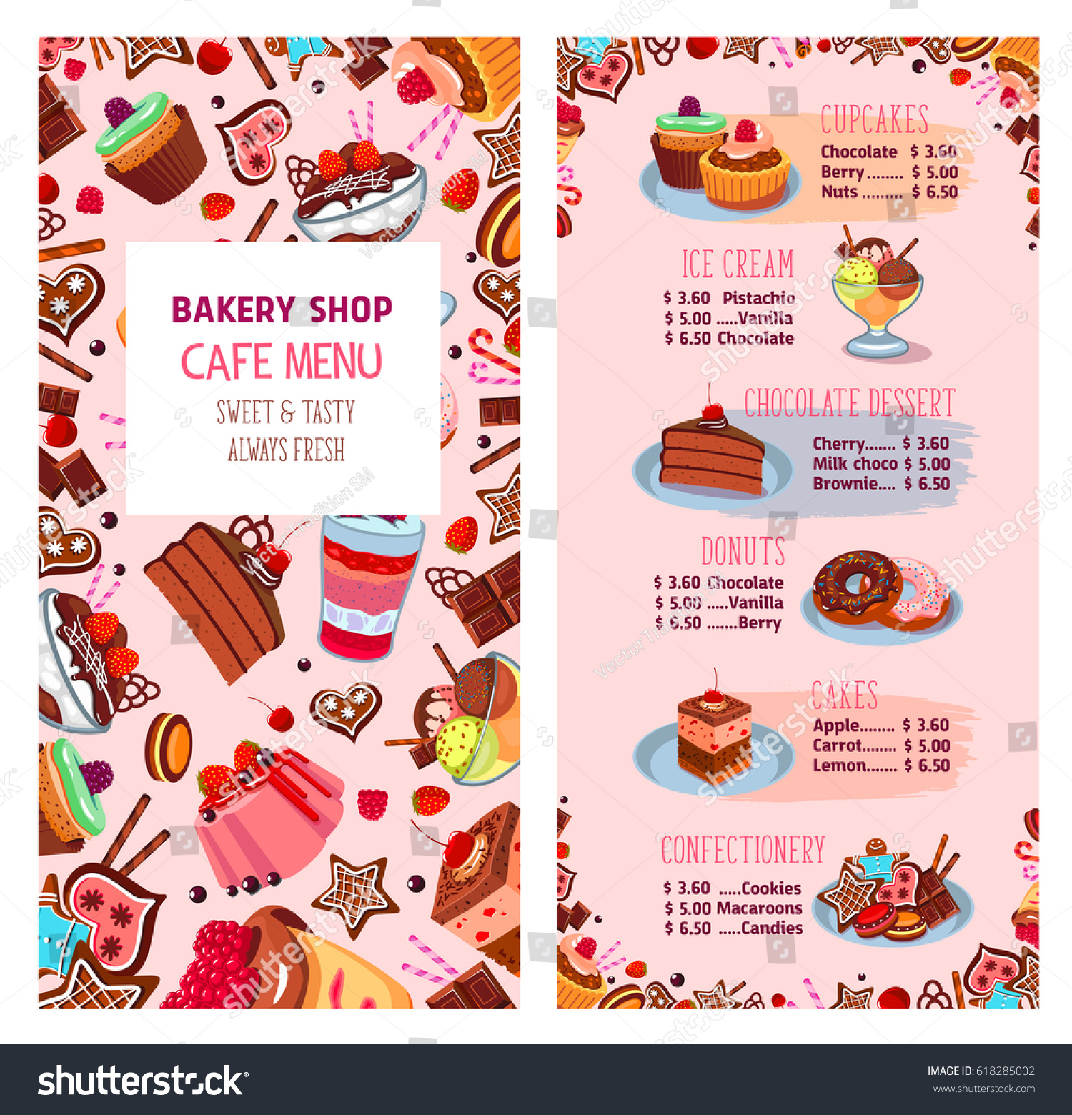 Cheese Cake Shop Menu Brithday Cake