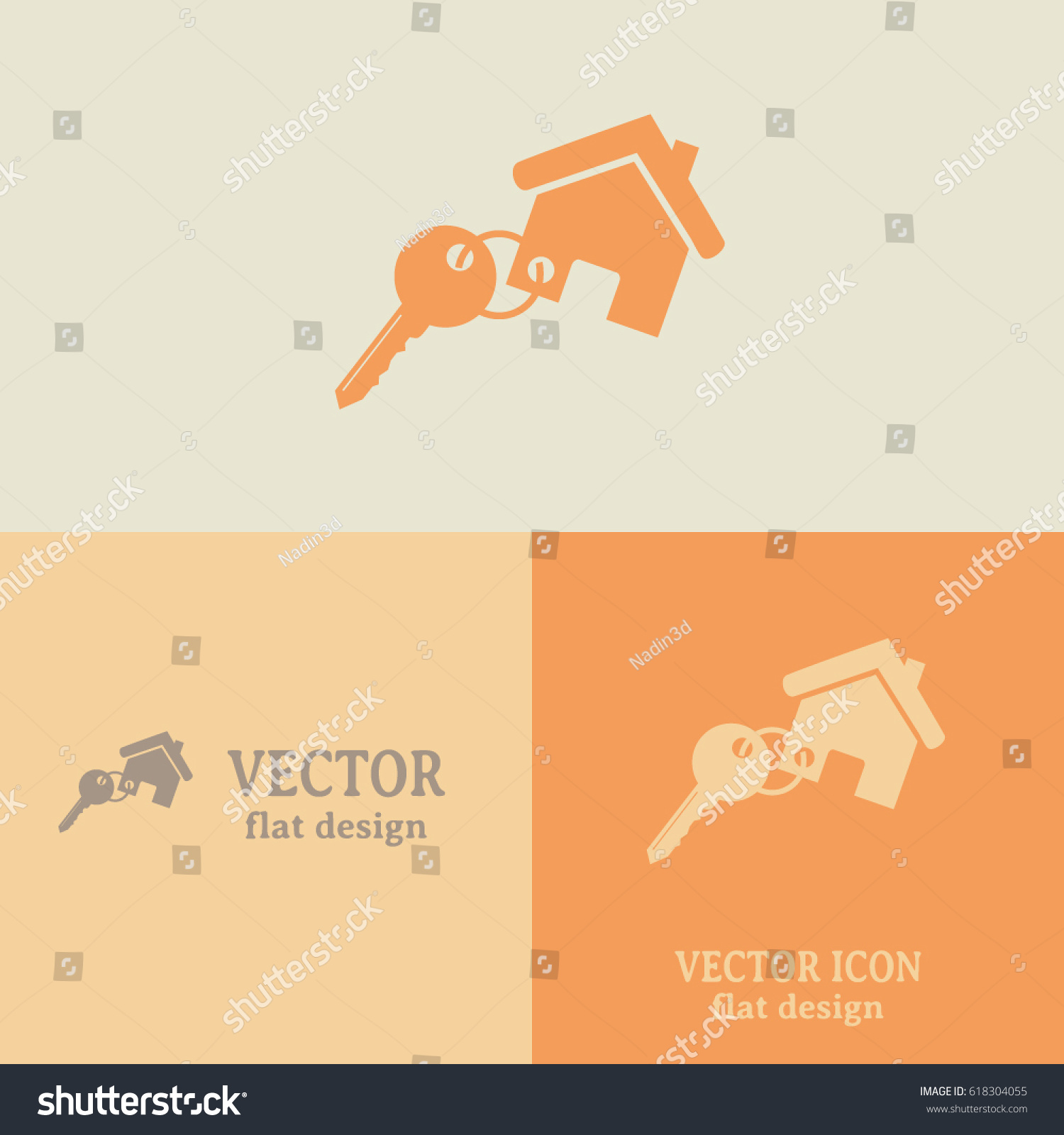Business cards design vector illustration keychain stock vector business cards design vector illustration keychain with a home attached colourmoves