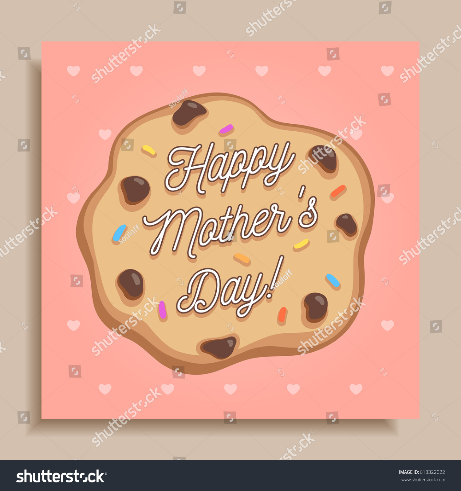 Chocolate greeting card choice image greeting card examples creative happy mothers day greeting card stock vector 618322022 creative happy mothers day greeting card celebration kristyandbryce Choice Image