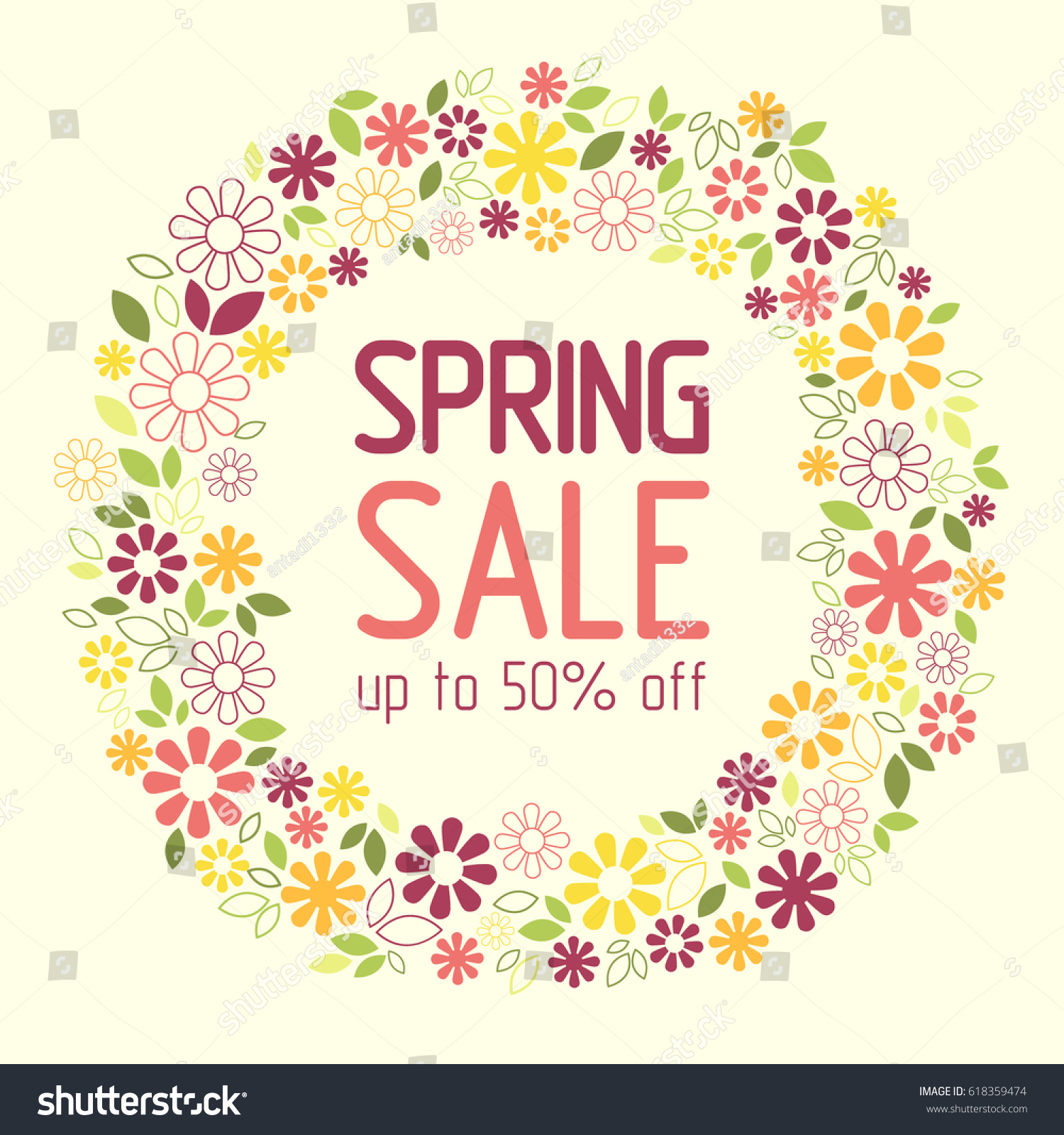 Floral Sale Flyer Pictures To Pin On Pinterest Pinsdaddy