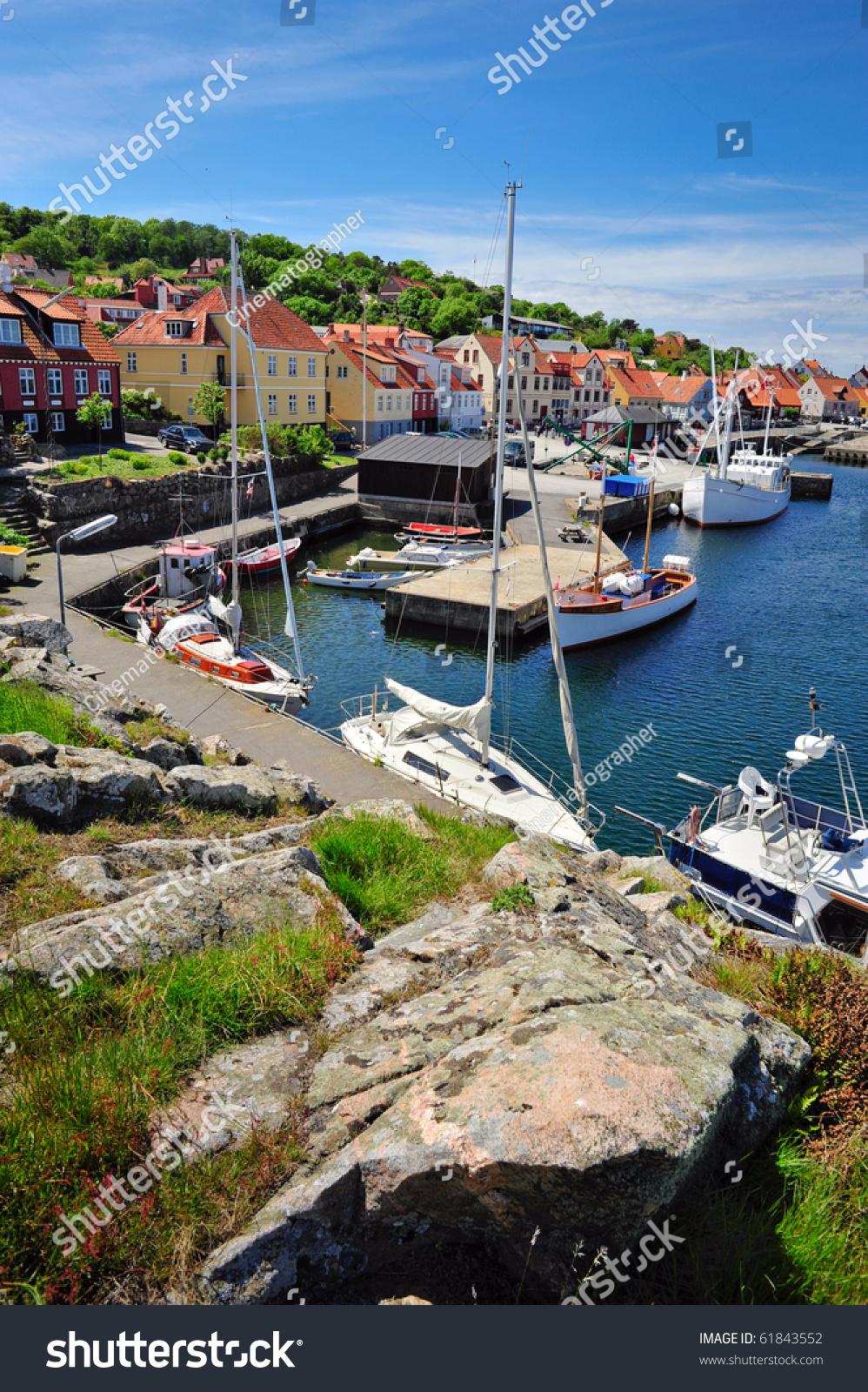 Gudhjem, Bornholm, Denmark загрузить
