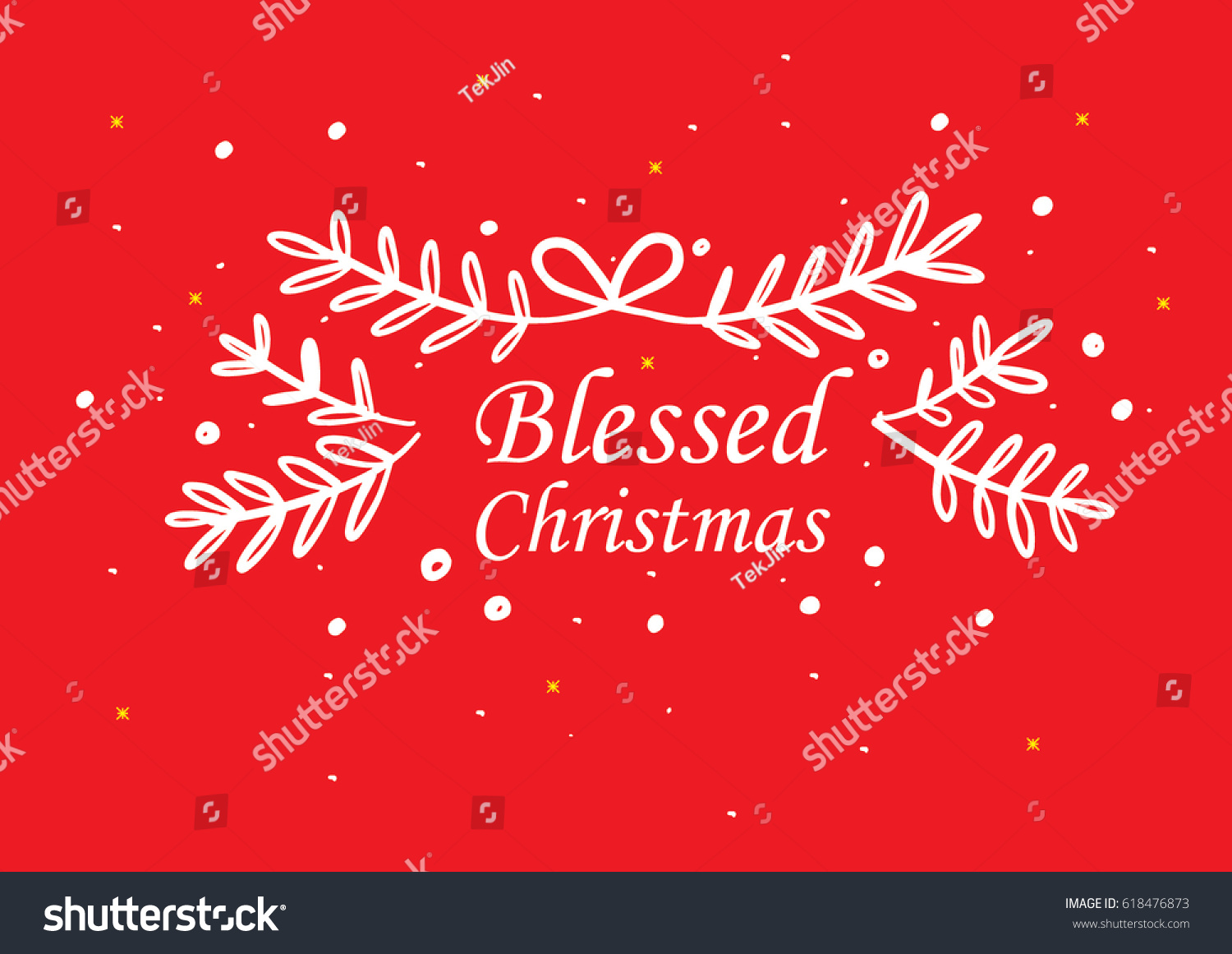Blessed christmas greeting card design hand stock vector 618476873 blessed christmas greeting card design with hand drawn floral pattern kristyandbryce Images
