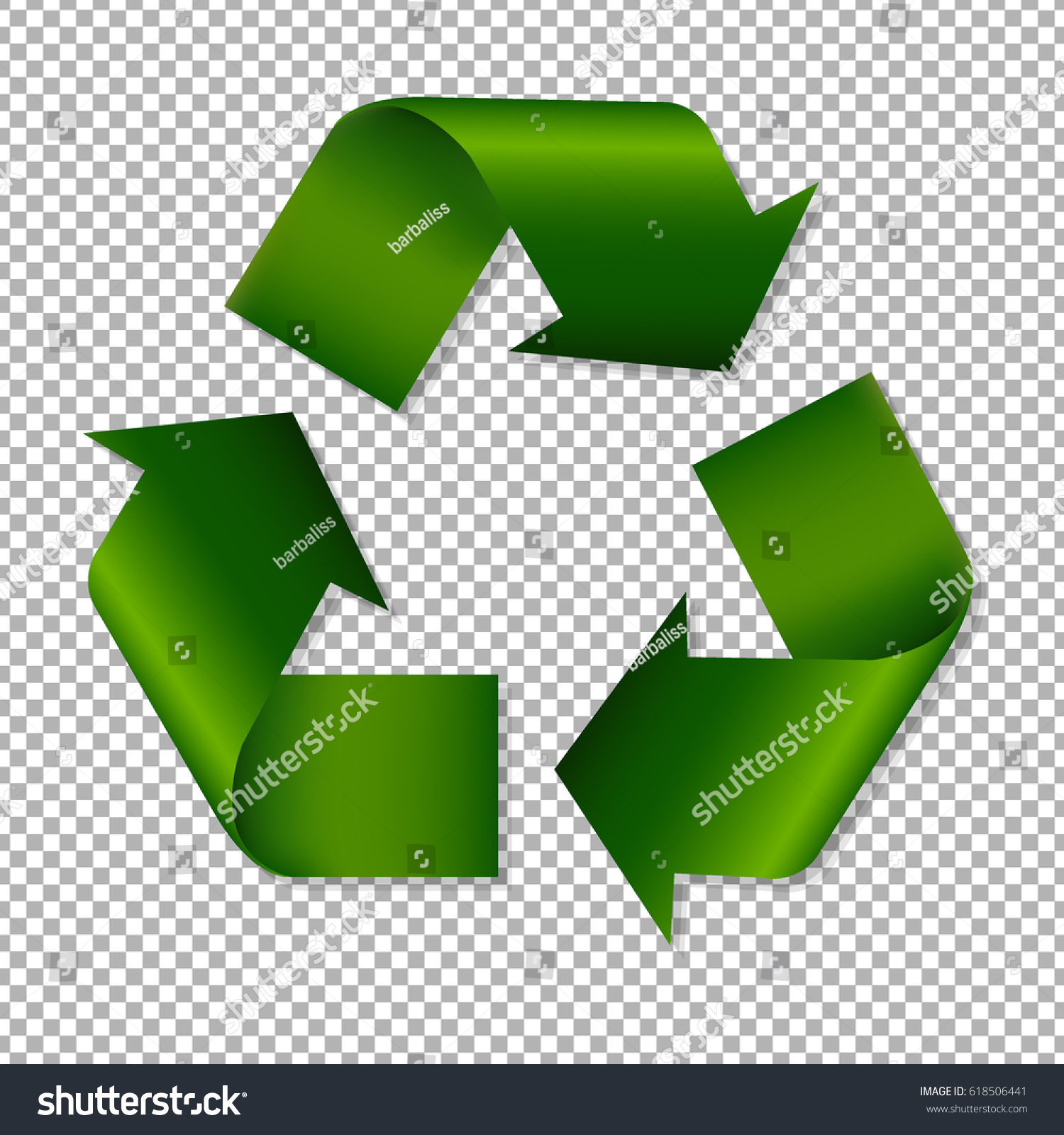 Recycle sign stock illustration 618506441 shutterstock recycle sign buycottarizona Images