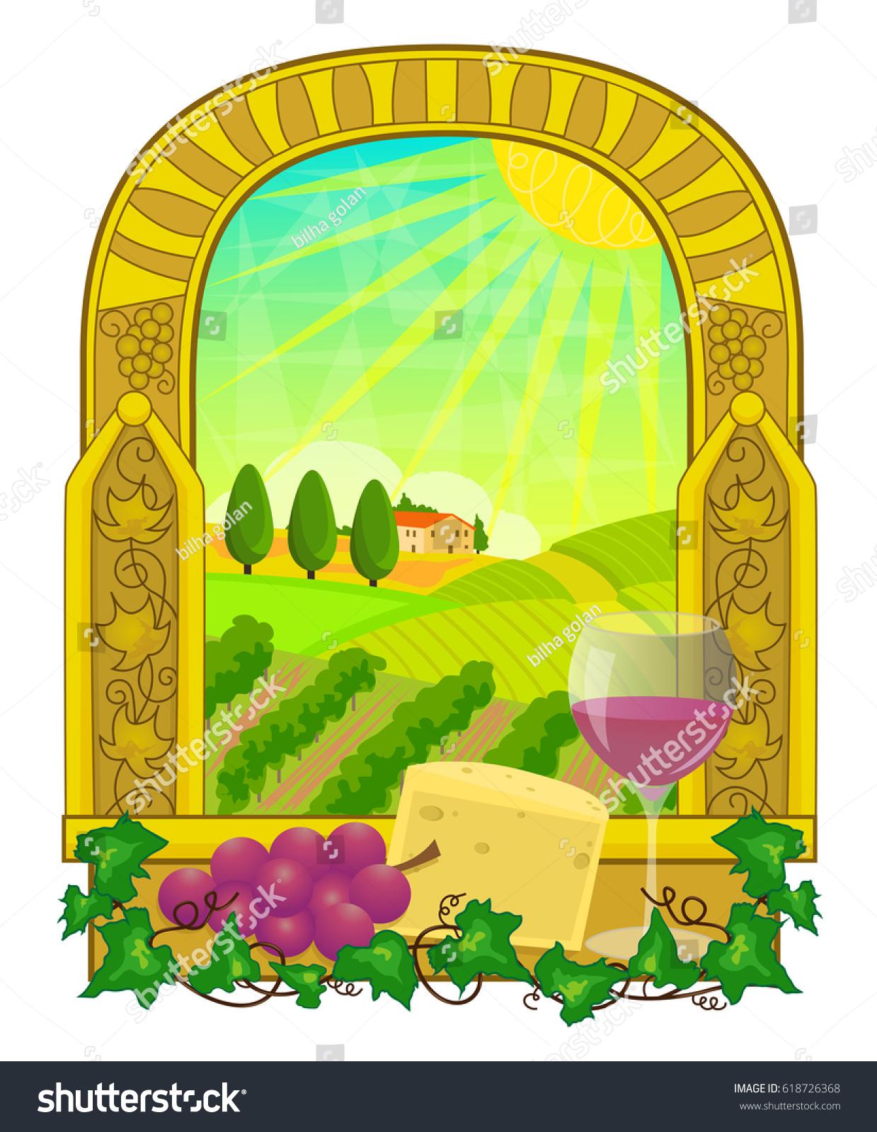 Vineyard Clip Art