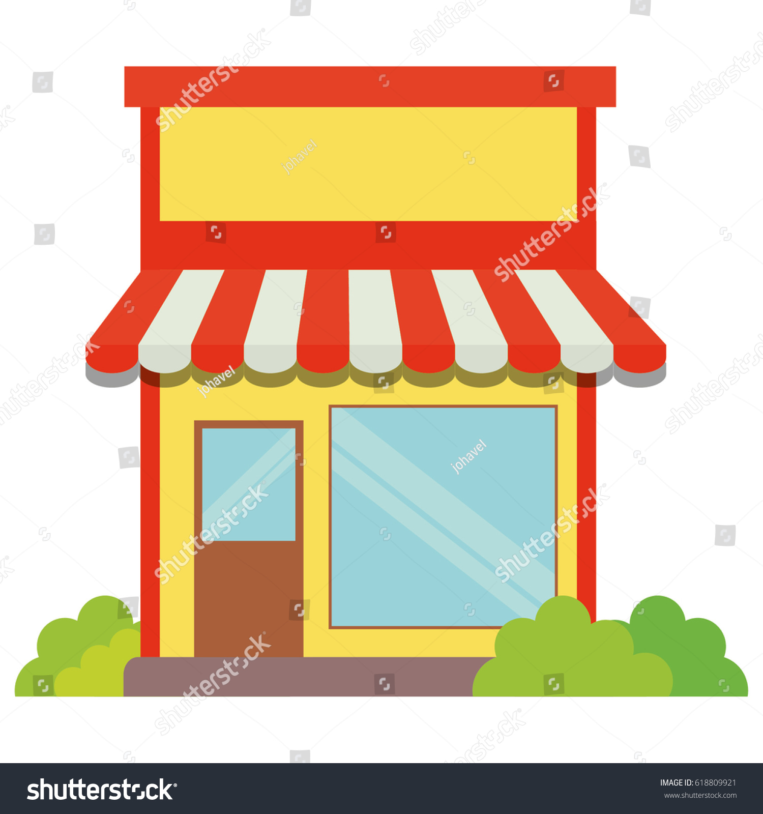 storefront facade icon image stock vector hd royalty free rh shutterstock com Cartoon Storefront storefront window clipart