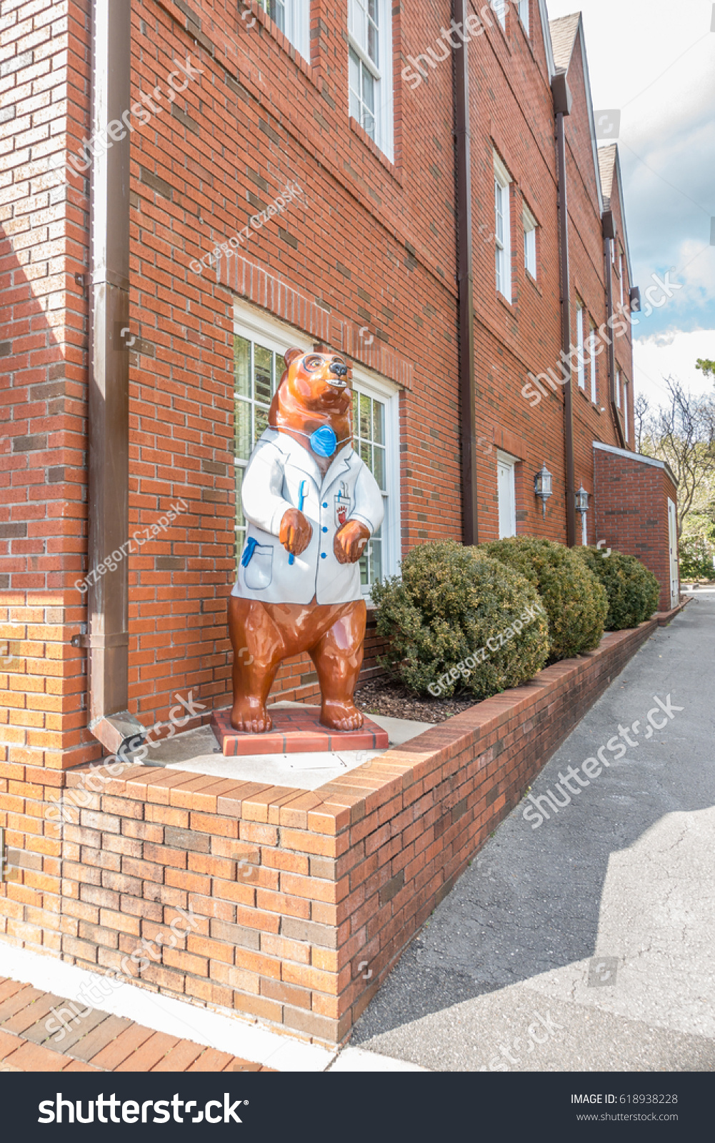 New bern north carolina usa february stock photo 618938228 new bern north carolina usa february 24 2017 bear symbol buycottarizona
