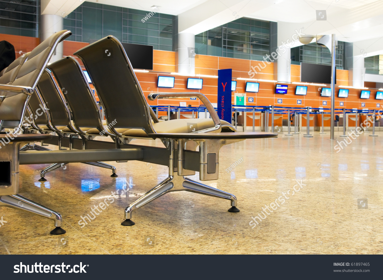 Modern architecture airport terminal stock photo edit now 61897465