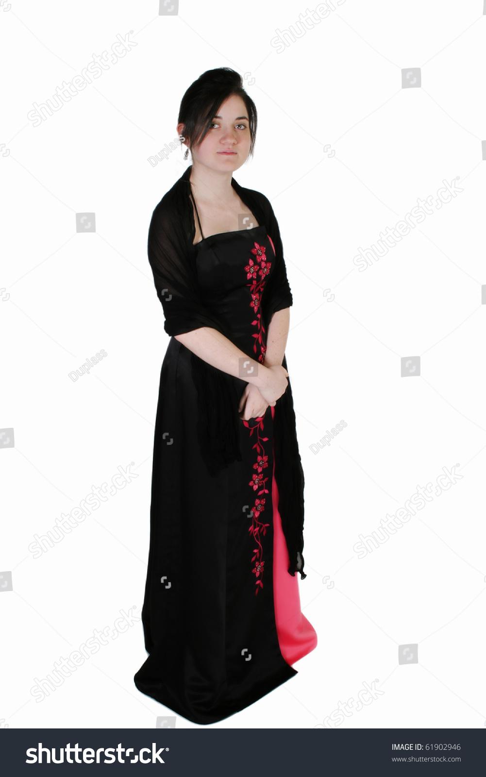 Beautiful 15 Year Old Girl Formal Stock Photo 61902946