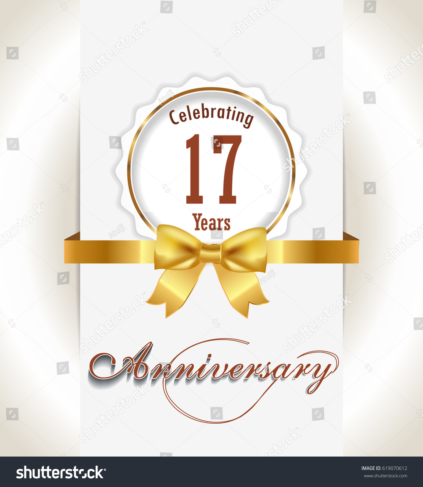 17th Wedding Anniversary Symbol
