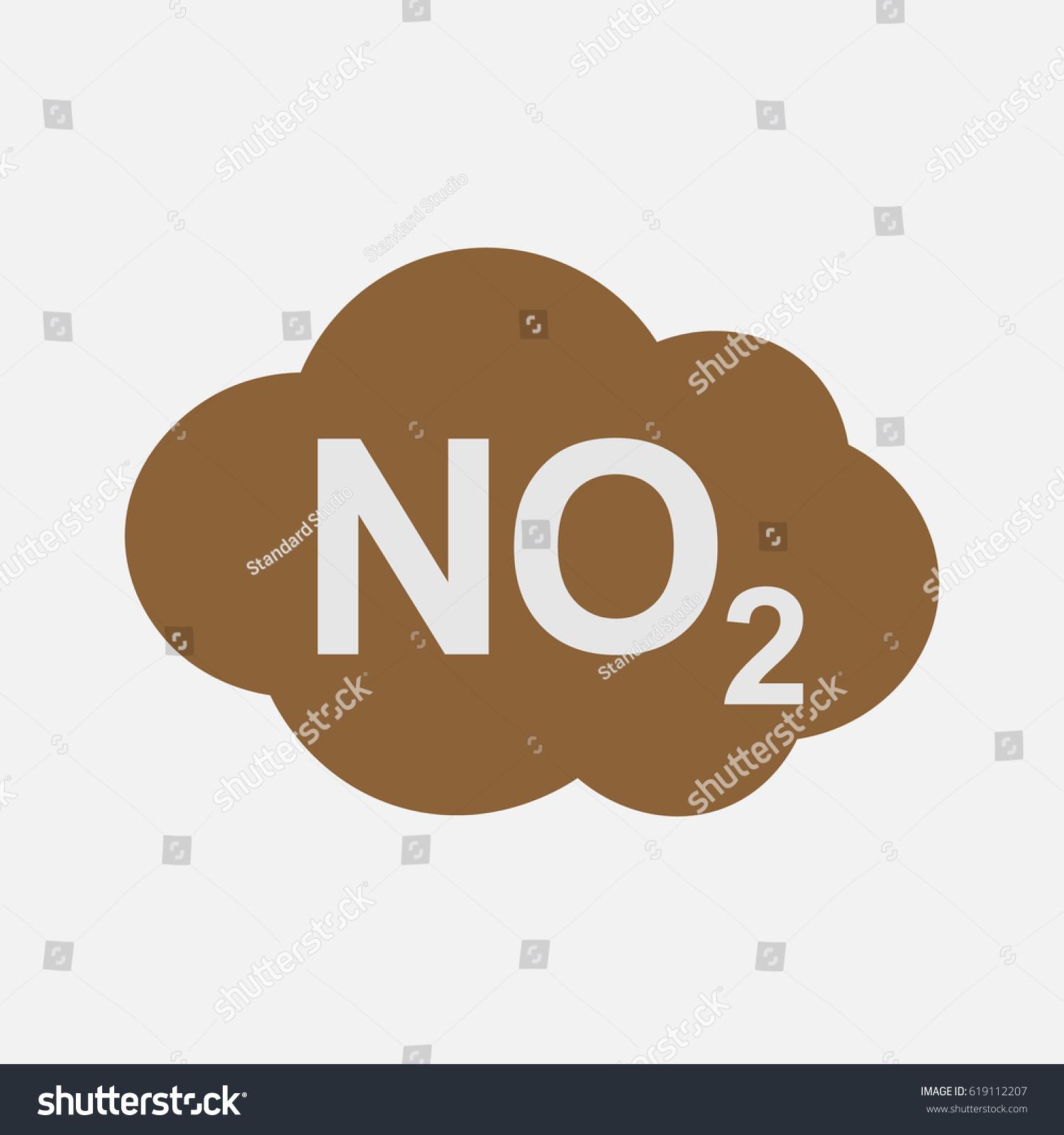 No2 icon nitrogen dioxide formula symbol stock vector 619112207 no2 icon nitrogen dioxide formula symbol vector illustration buycottarizona