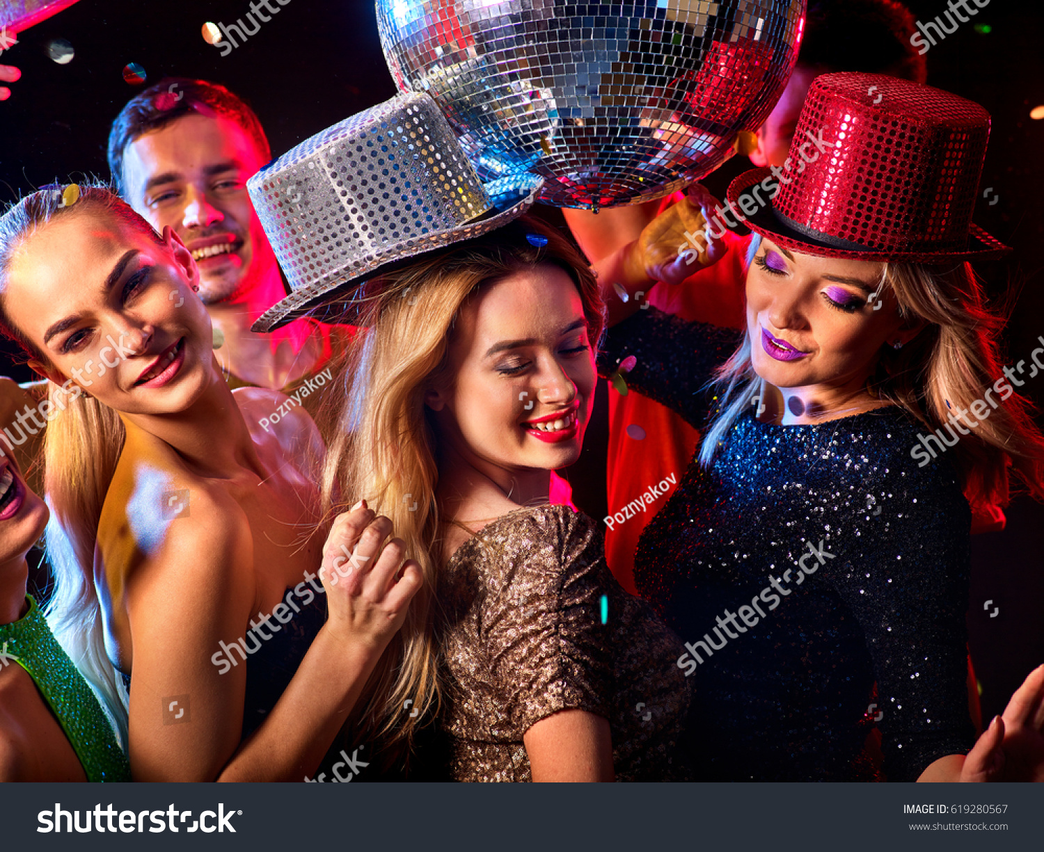 Dance party group people dancing women stock photo royalty free dance party with group people dancing women and men have fun in night club ccuart Gallery