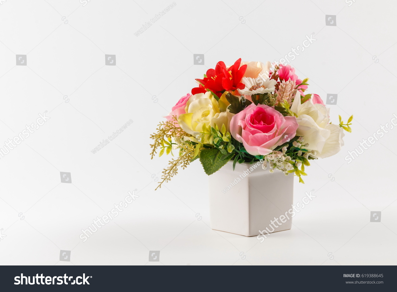 Bouquet flowers bouquet colorful flowers on white stock photo bouquet flowers bouquet colorful flowers on white stock photo royalty free 619388645 shutterstock izmirmasajfo