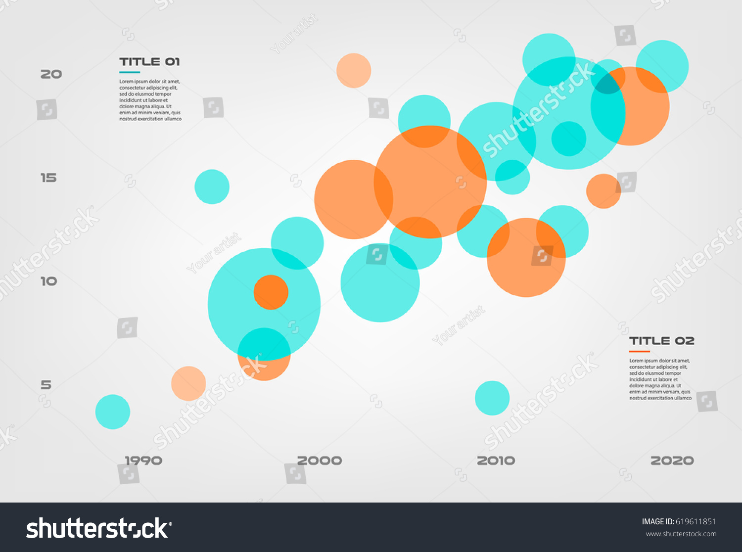 Bubble chart elements venn diagram infographics stock vector bubble chart with elements venn diagram infographics for three circle design vector and marketing can be pooptronica